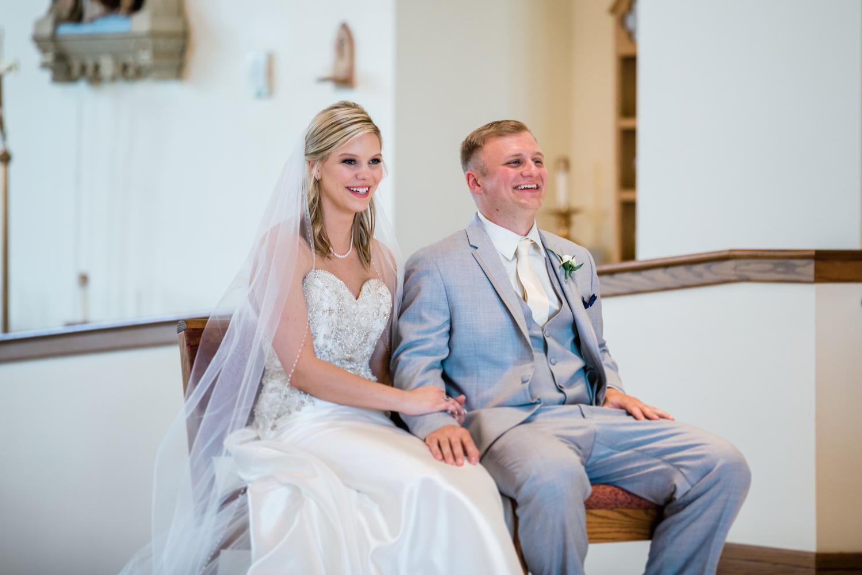 Catholic wedding ceremony photographer in Westminster, MD