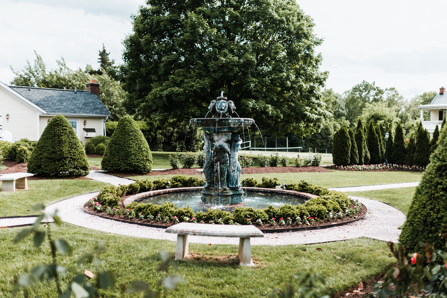 garden estate wedding venues in Carroll County, Maryland - best wedding photography in MD