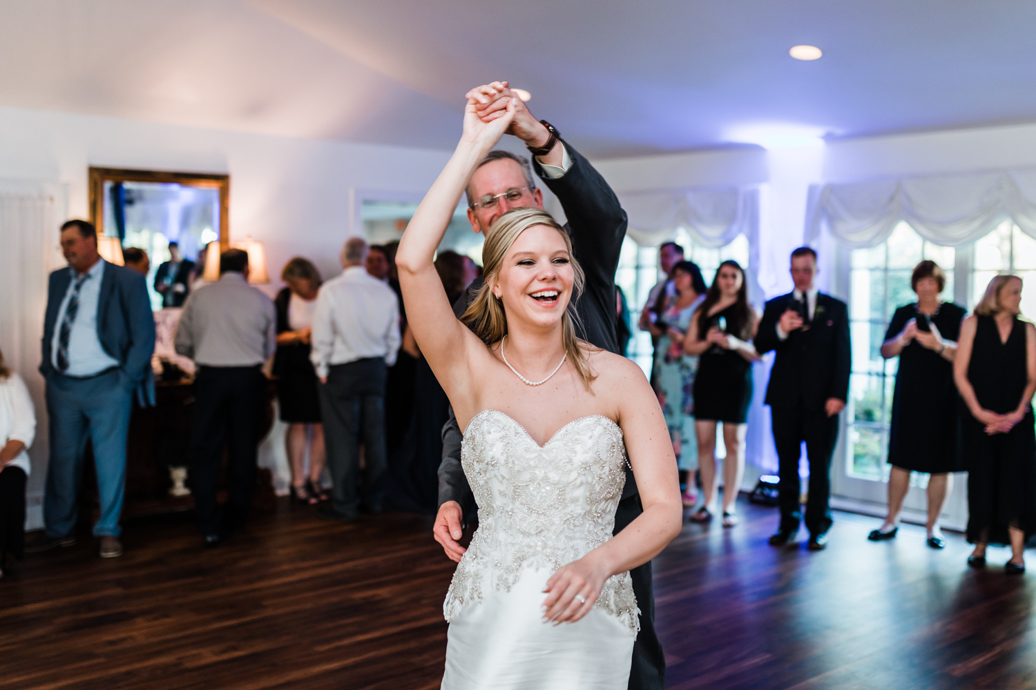 father daughter dance - best wedding photography in Maryland