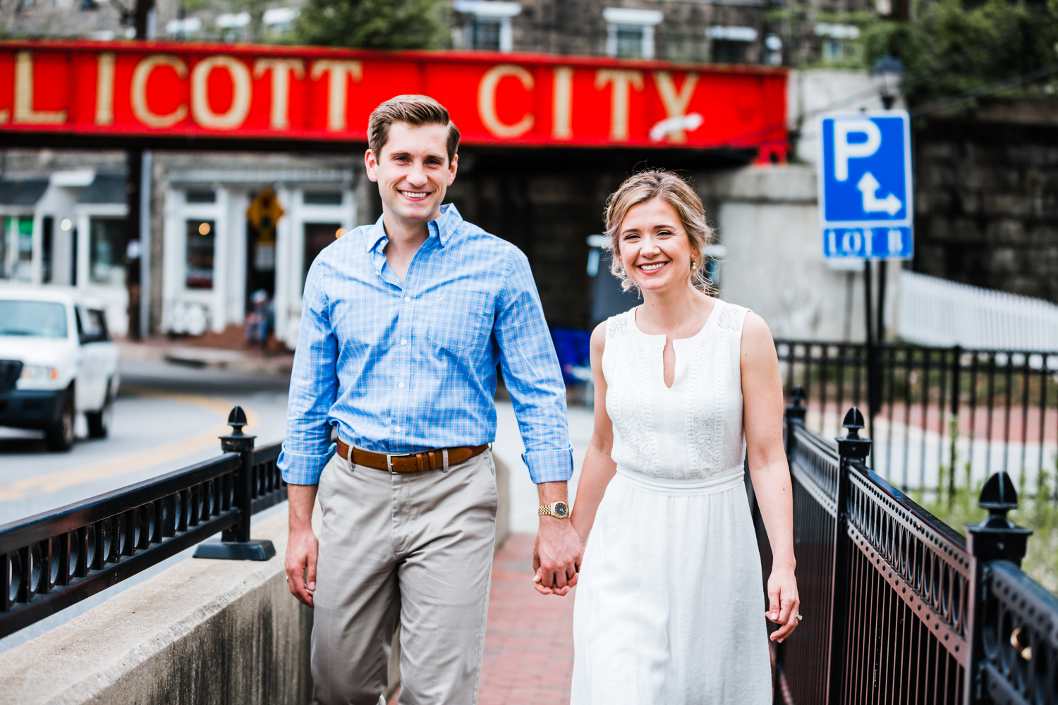 Ellicott City engagement photo session - Maryland engagement and wedding photographer