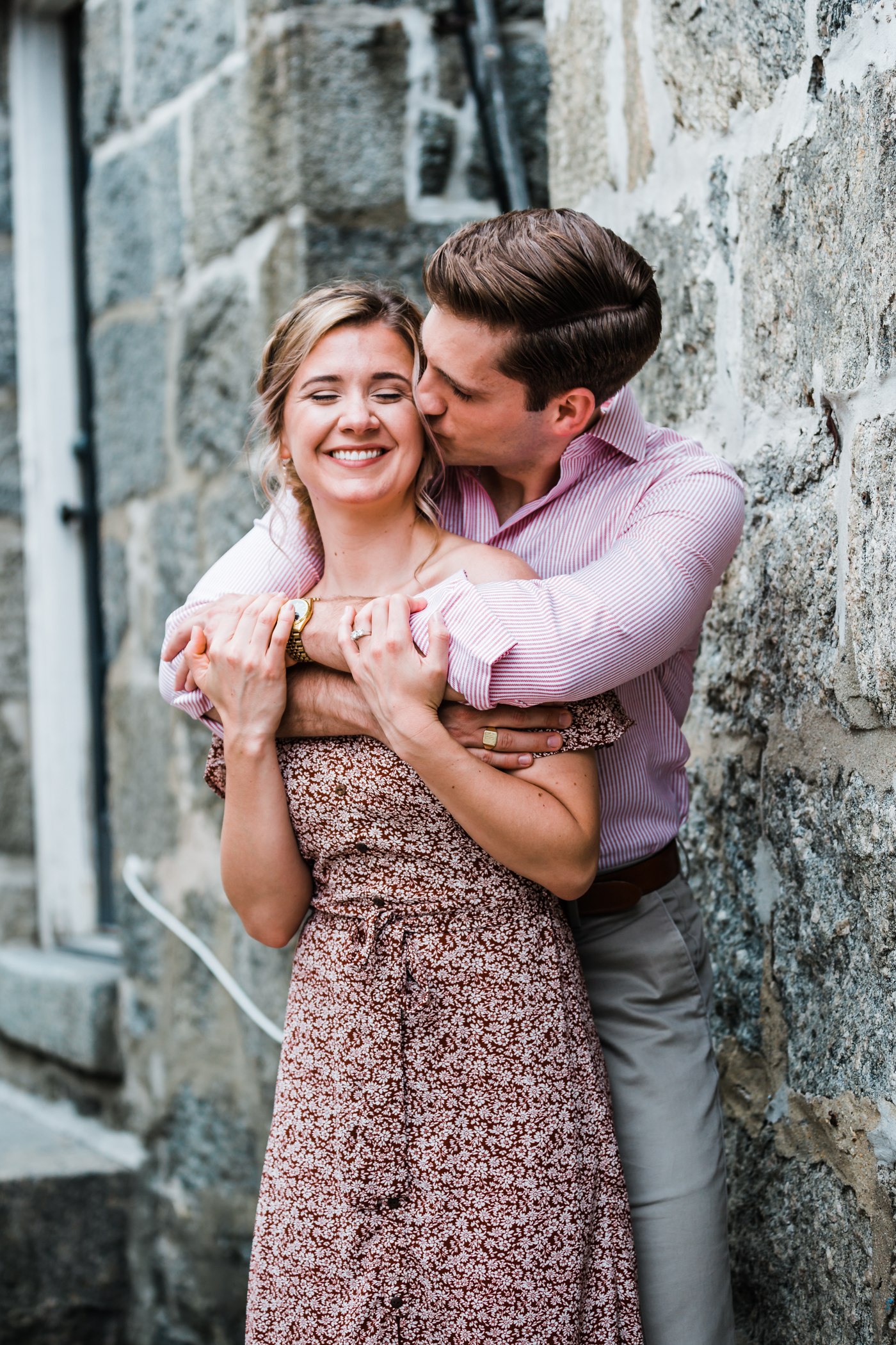 adorable couple poses in Maryland - best spots in MD for engagement session
