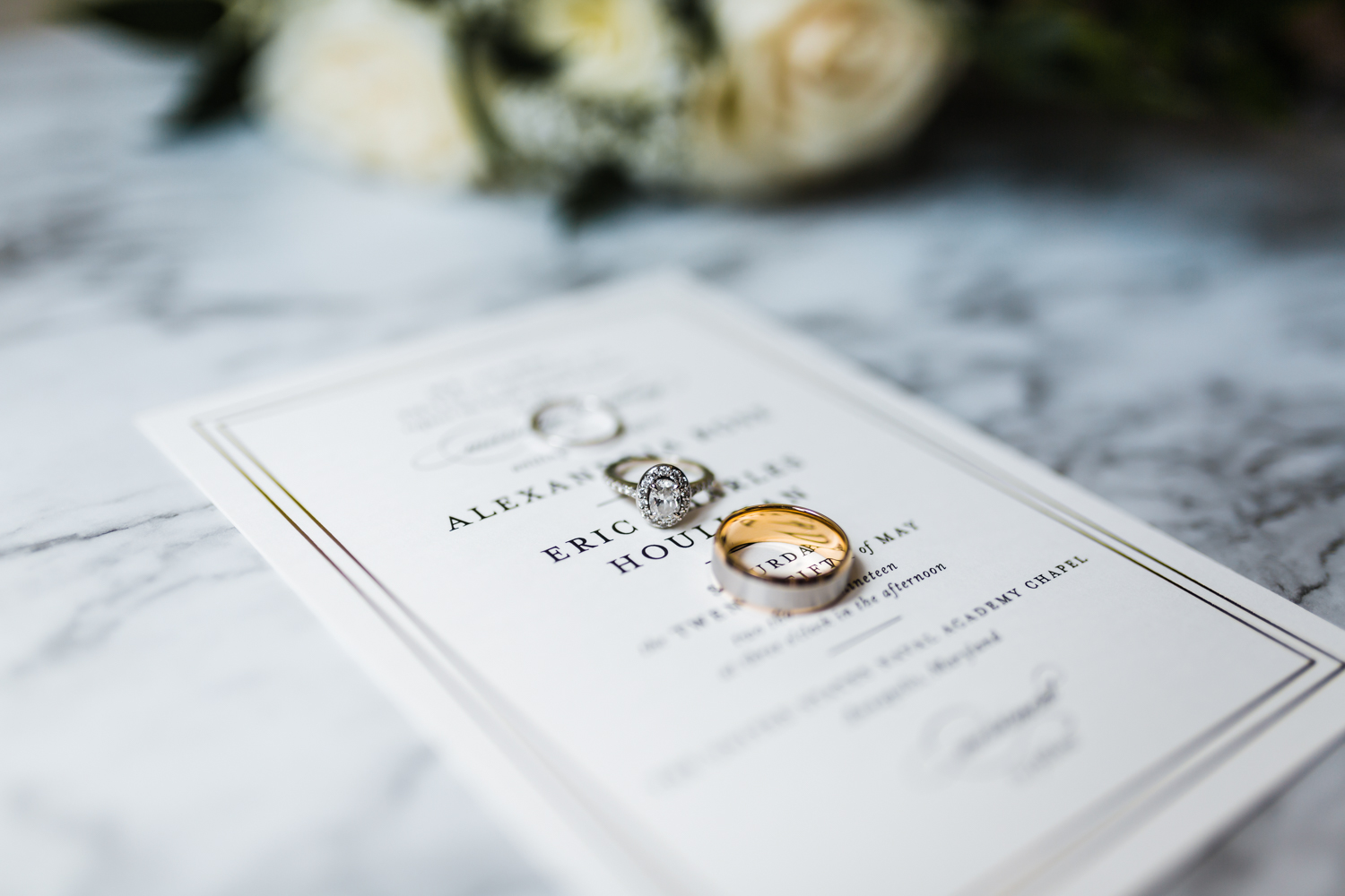 oval engagement ring details - annapolis maryland bridal details - best wedding photographer and videographer in annapolis, md