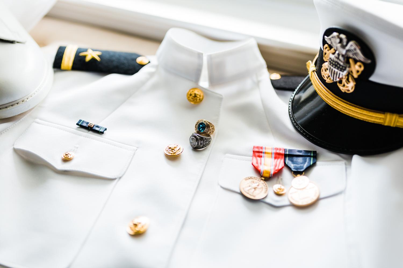 navy graduate - wedding day - annapolis maryland wedding photography