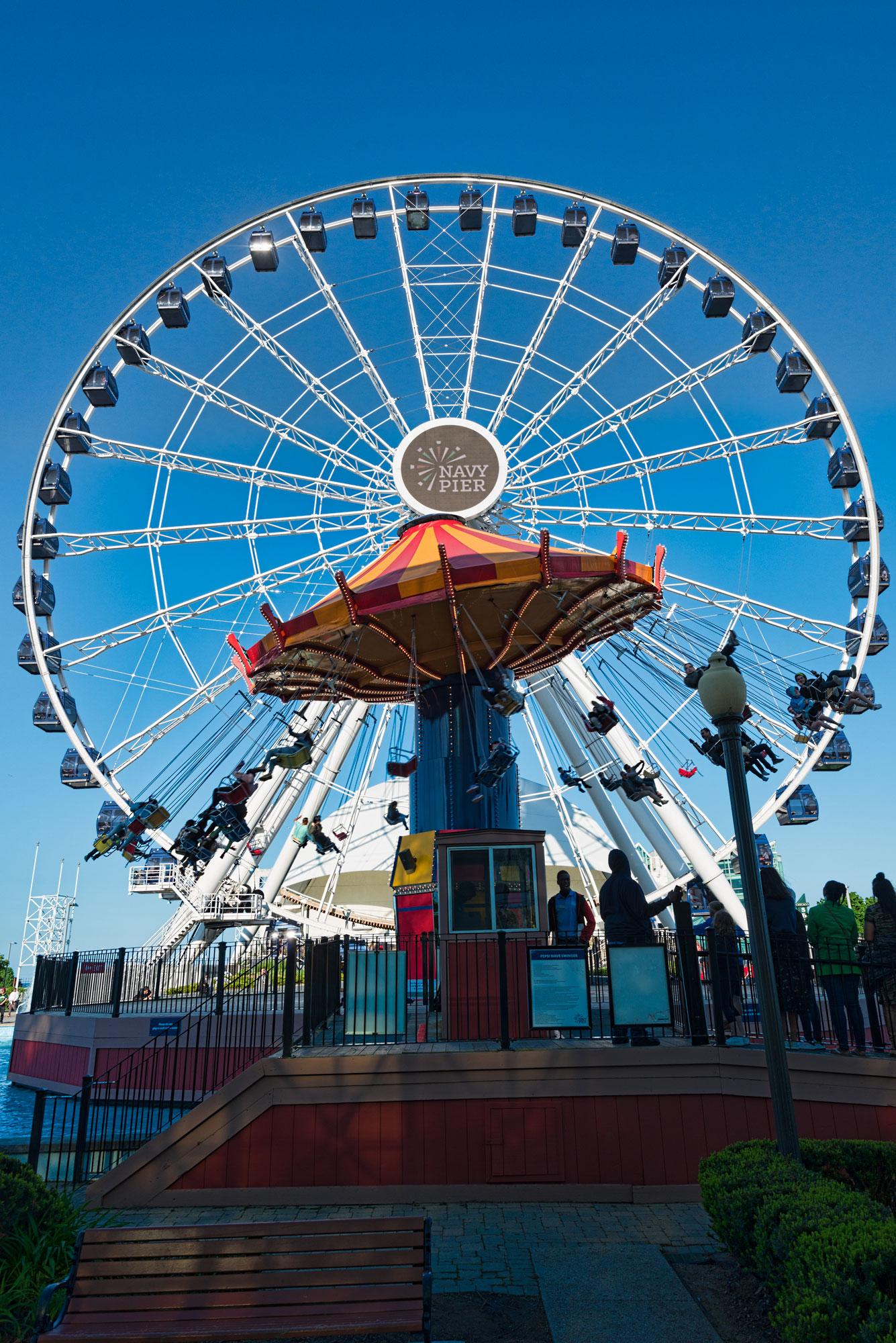 Centennial Wheel at Navy Pier