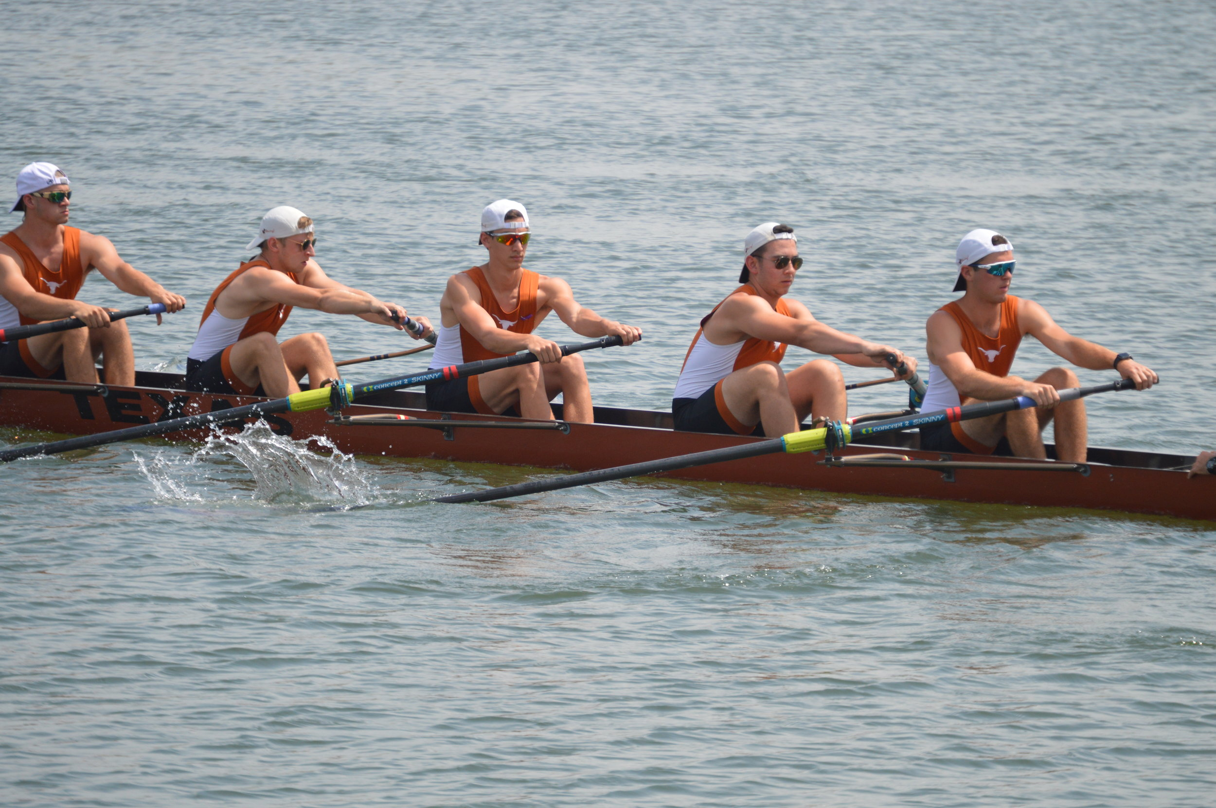 Rowing in Oak Ridge - Oak Ridge has hosted dozens of regattas over the years including several collegiate events like this one in the spring of 2017.