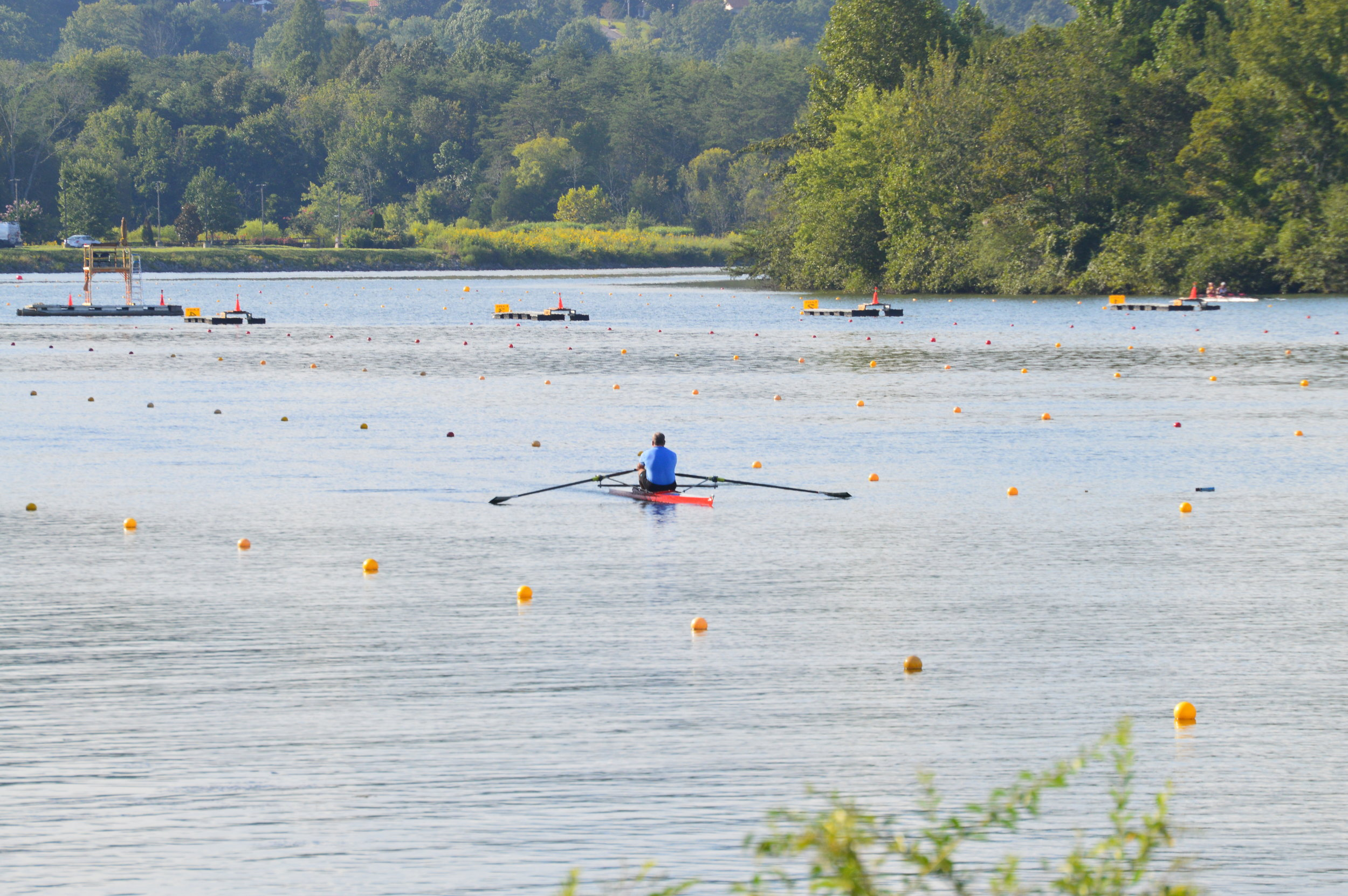 The City of Oak Ridge has been working to add a lane to the rowing venue as well as enhance viewing opportunities along the course.