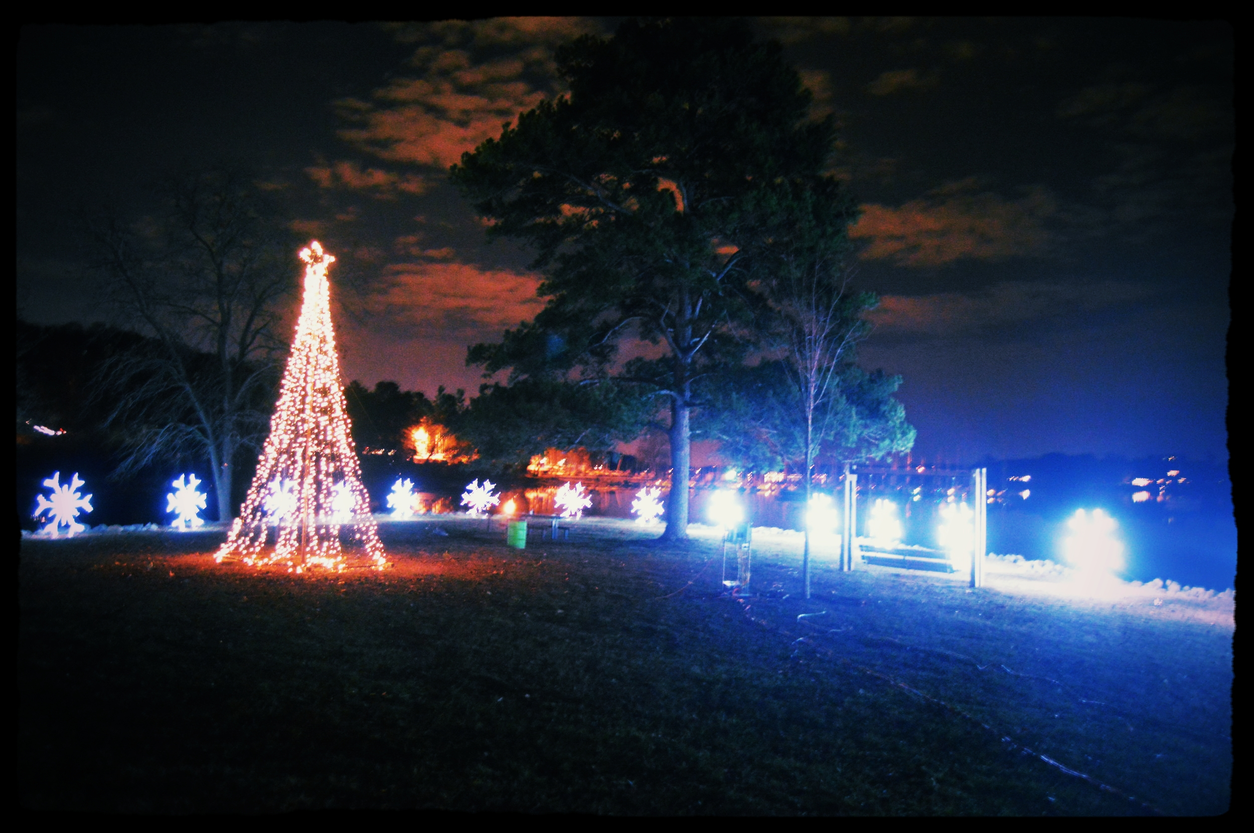 During the Christmas season, the lights at the Cove at Concord Park attract thousands of people to this part of Ft. Loudoun Lake's Northshore.