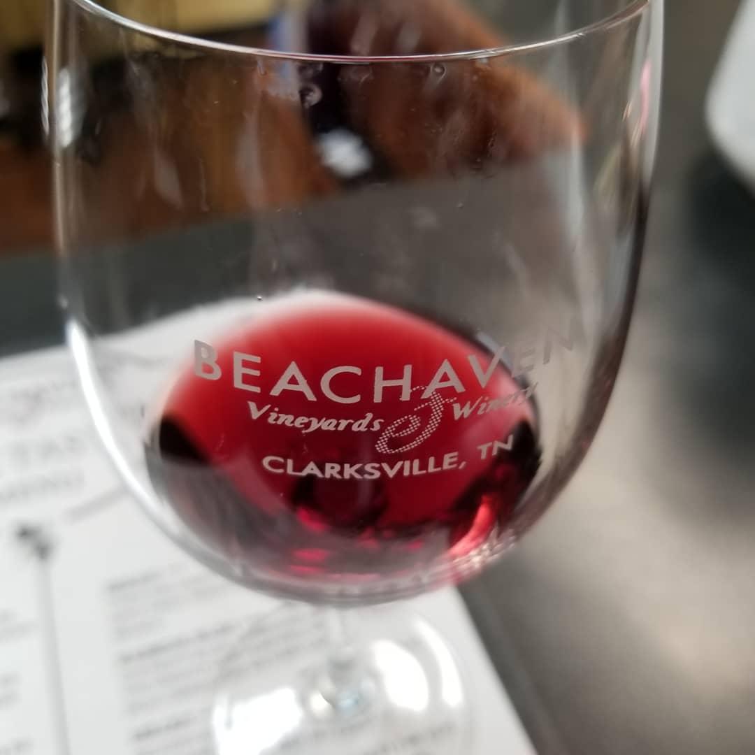 Beachaven Wine Glass