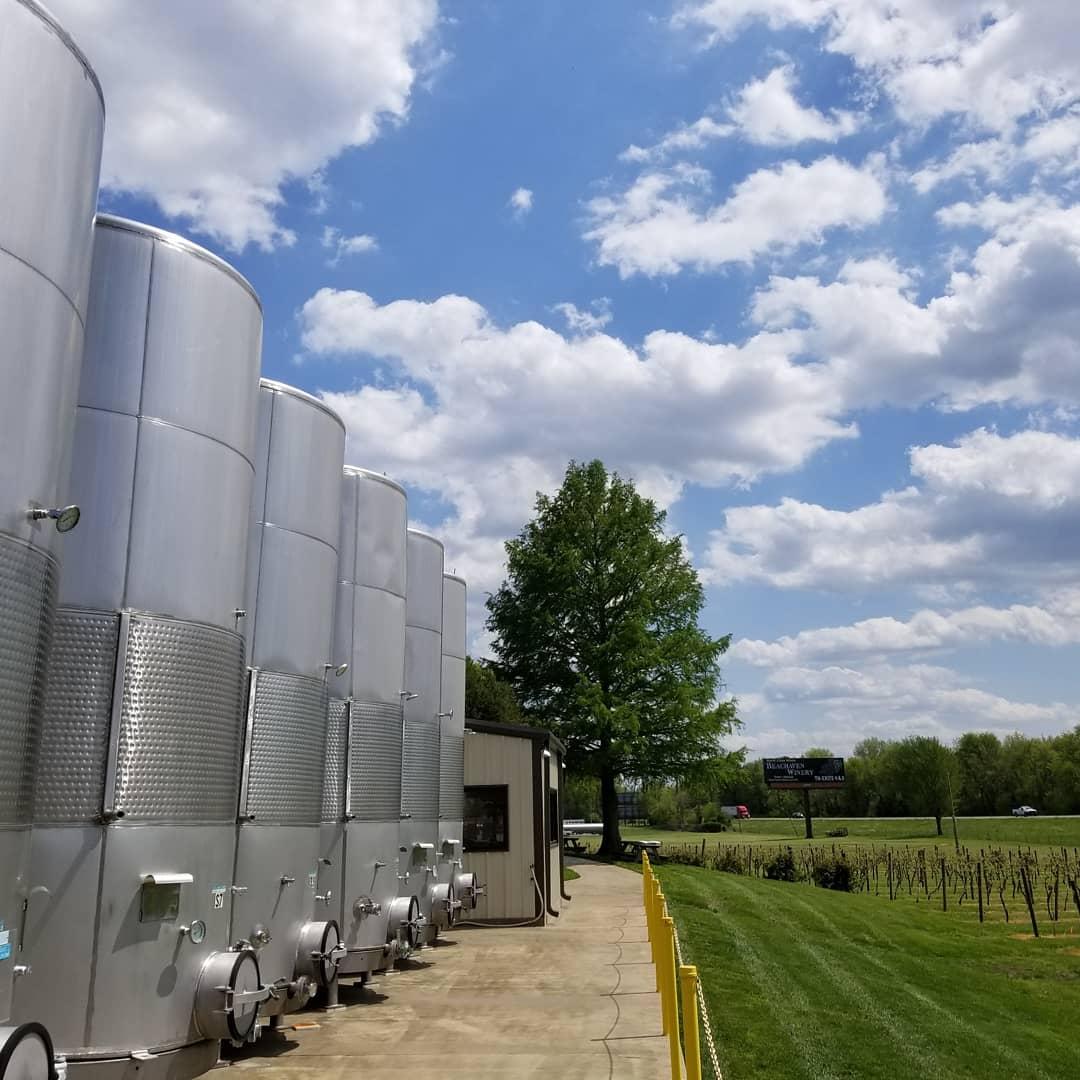 Beachaven Winery Storage Tanks