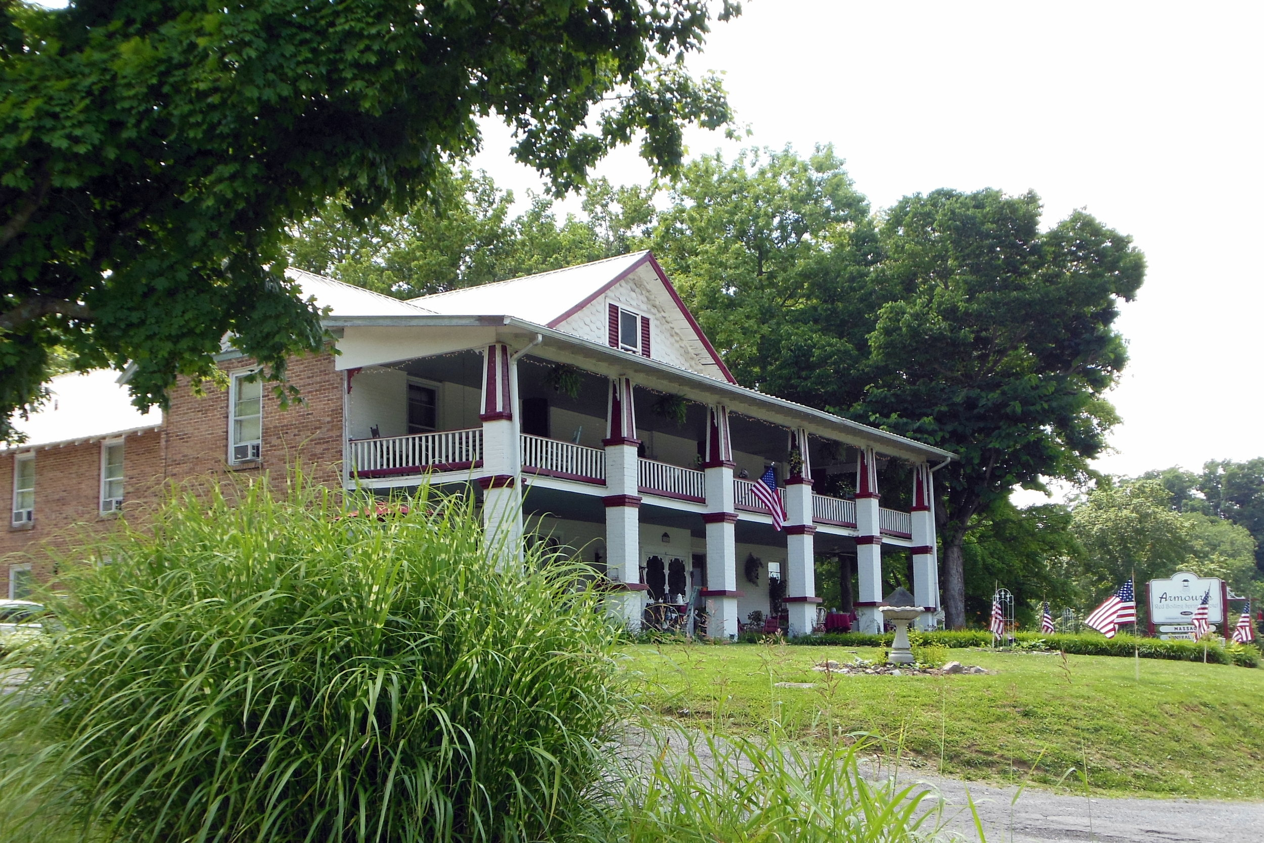 The Armour's Hotel provides a unique lodging experience with themed rooms, plenty of antiques and great southern dishes all served up family style.