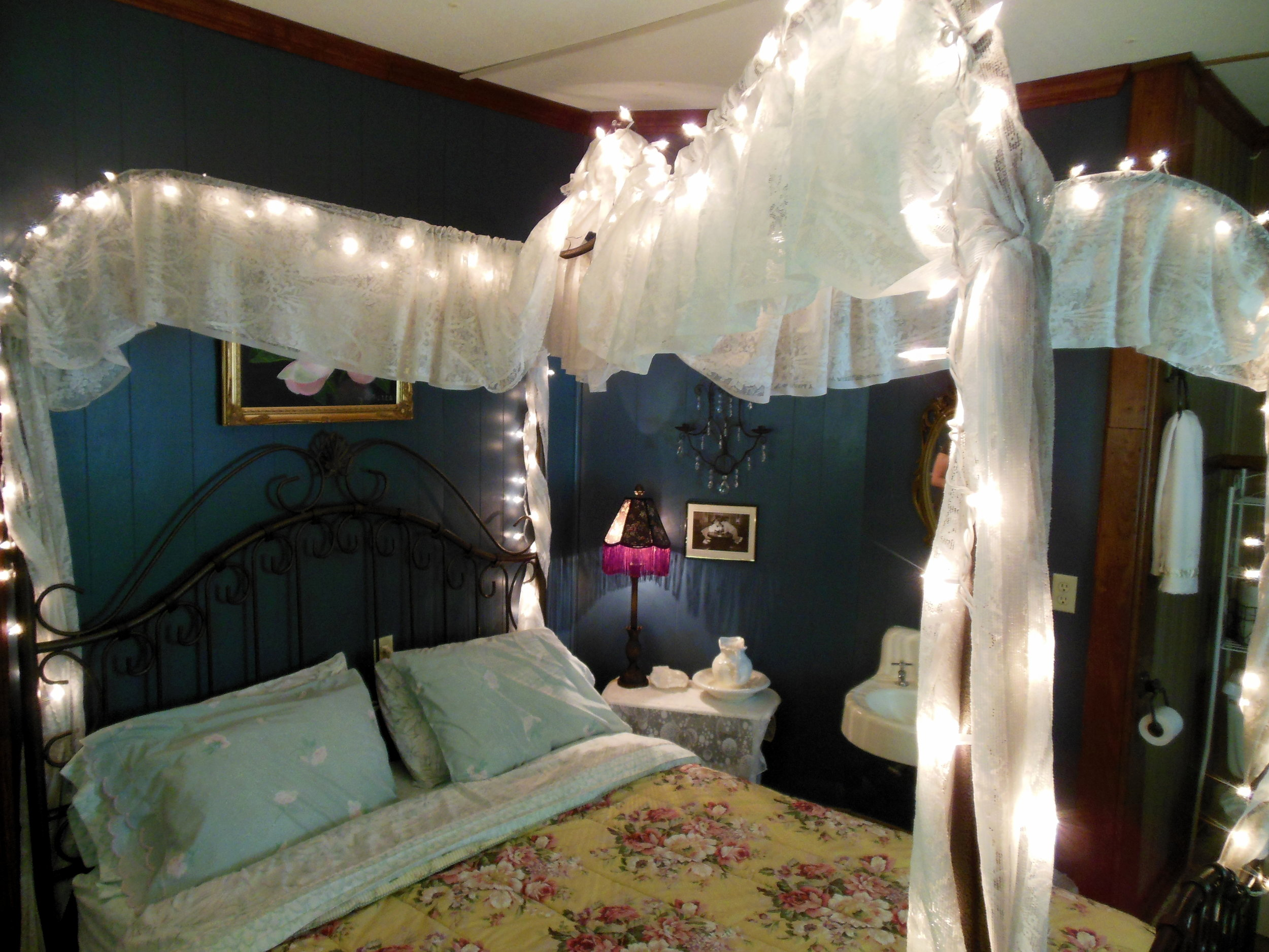 One of the many themed rooms inside the Armour's Hotel in Red Boiling Springs, TN.