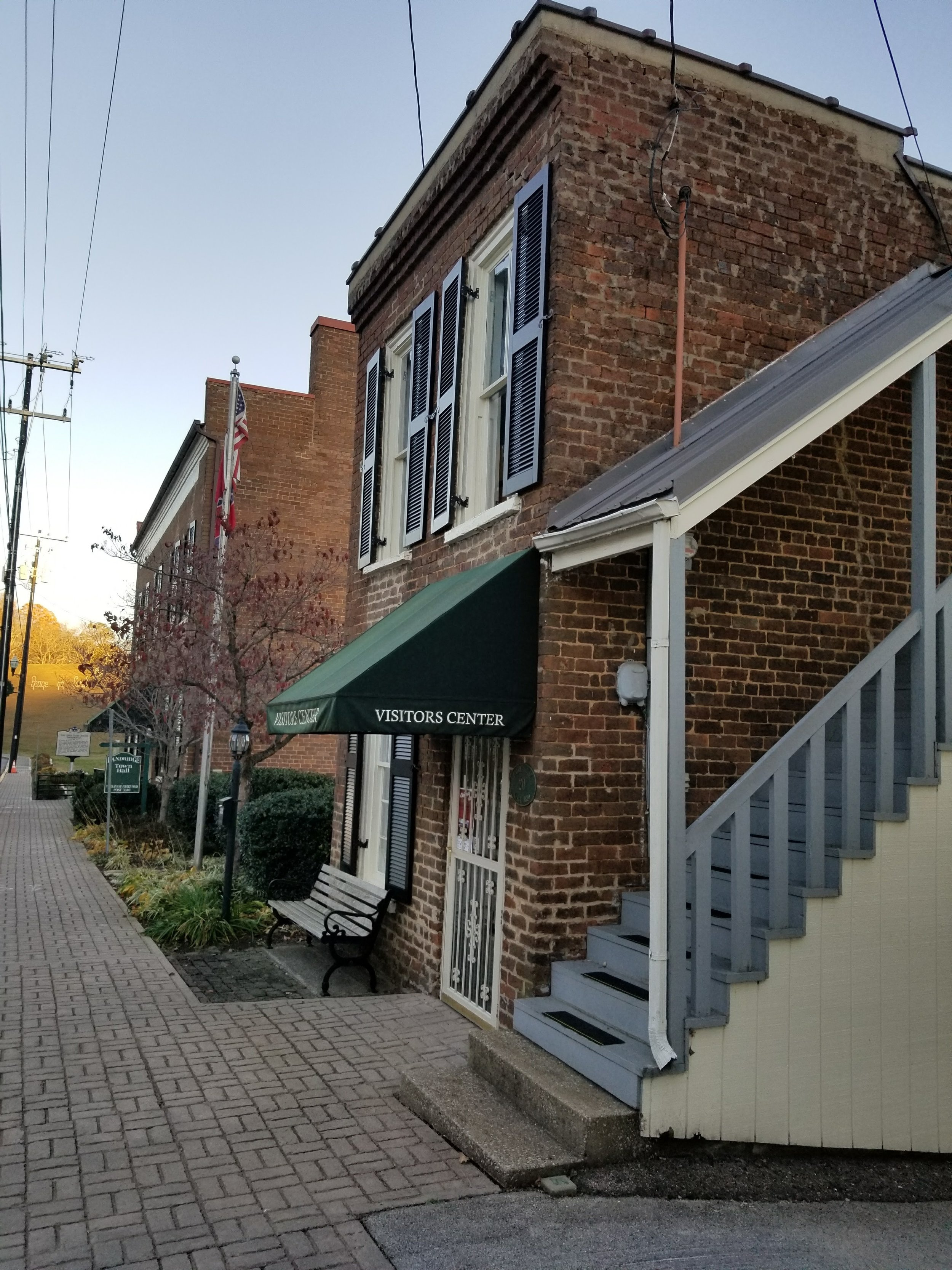 Taking a stroll along the streets of Dandridge will definitely give you a feeling that you've stepped back in time.