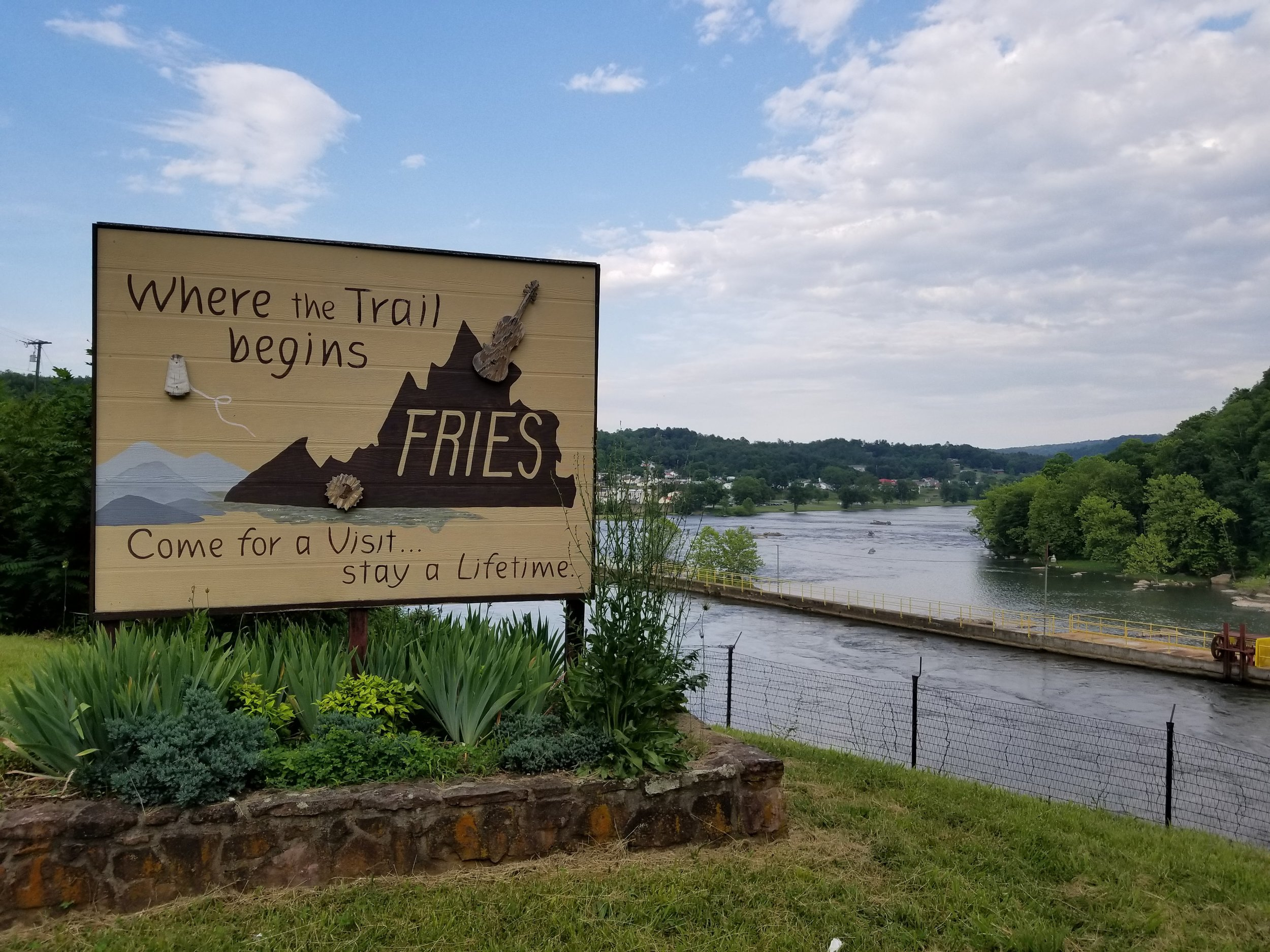 Fries, Virginia was built as a company town by textile magnate, Col. Francis Henry Fries in the early 1900's.
