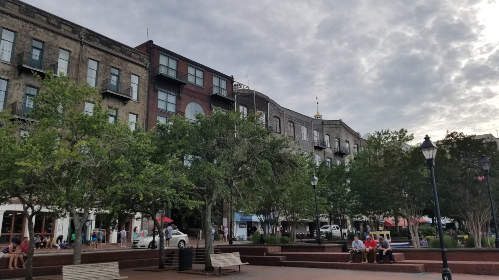River Street in Savannah Georgia
