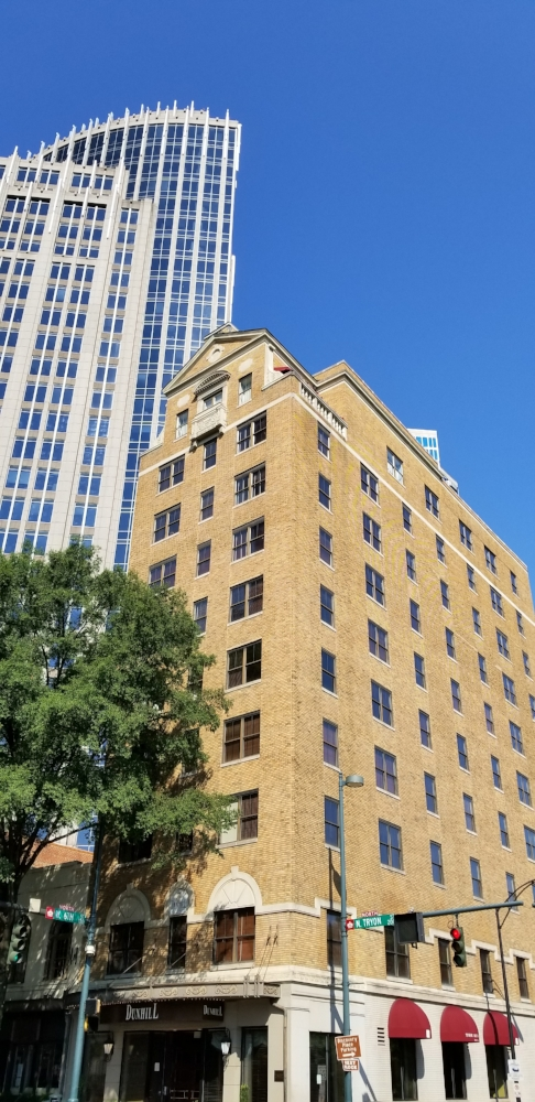 The Dunhill is a 60-room boutique hotel located in the heart of Uptown Charlotte.