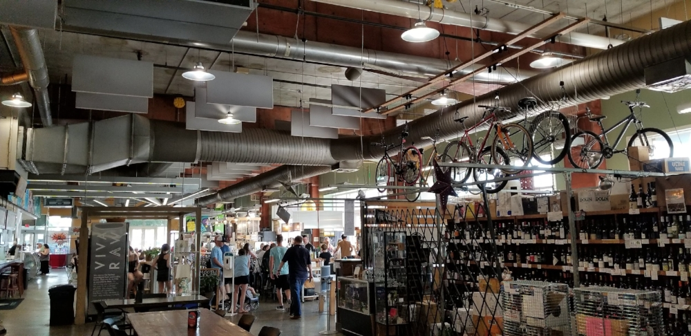 The 7th Street Public Market in Charlotte offers a wide variety of shops and places to eat.