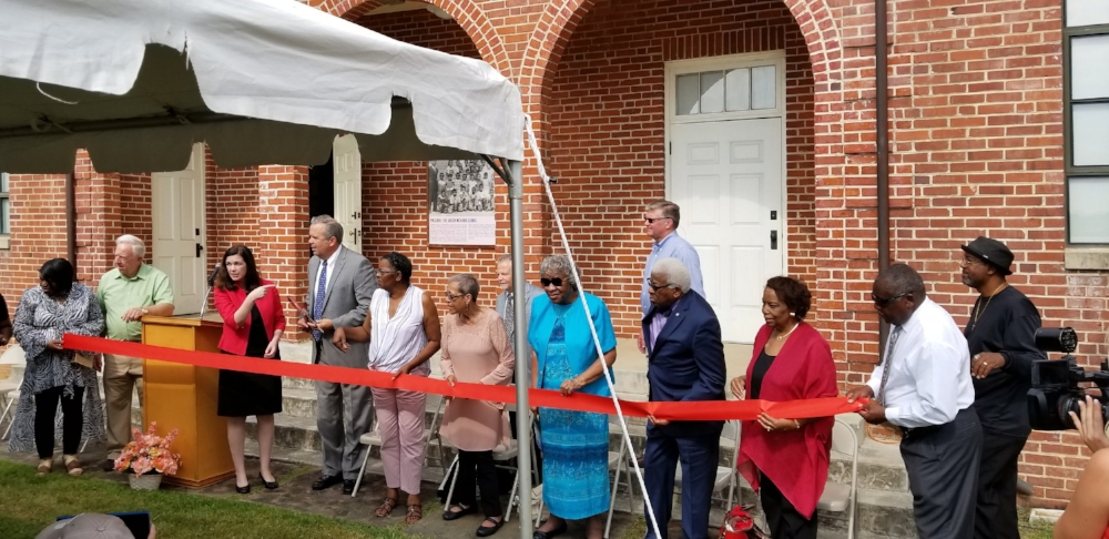 The ribbon cutting on August 25, 2018 ushered in a new chapter for the Green McAdoo Cultural Center as it becomes part of the Tennessee State Museum system.