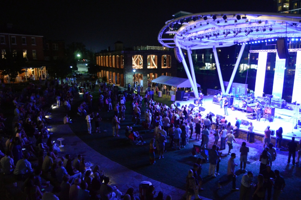 Peace Center Amphitheater Greenville