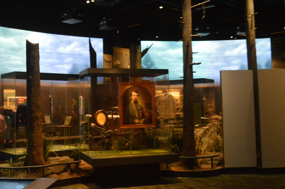 Civil War Exhibits at the Tennessee State Muesum