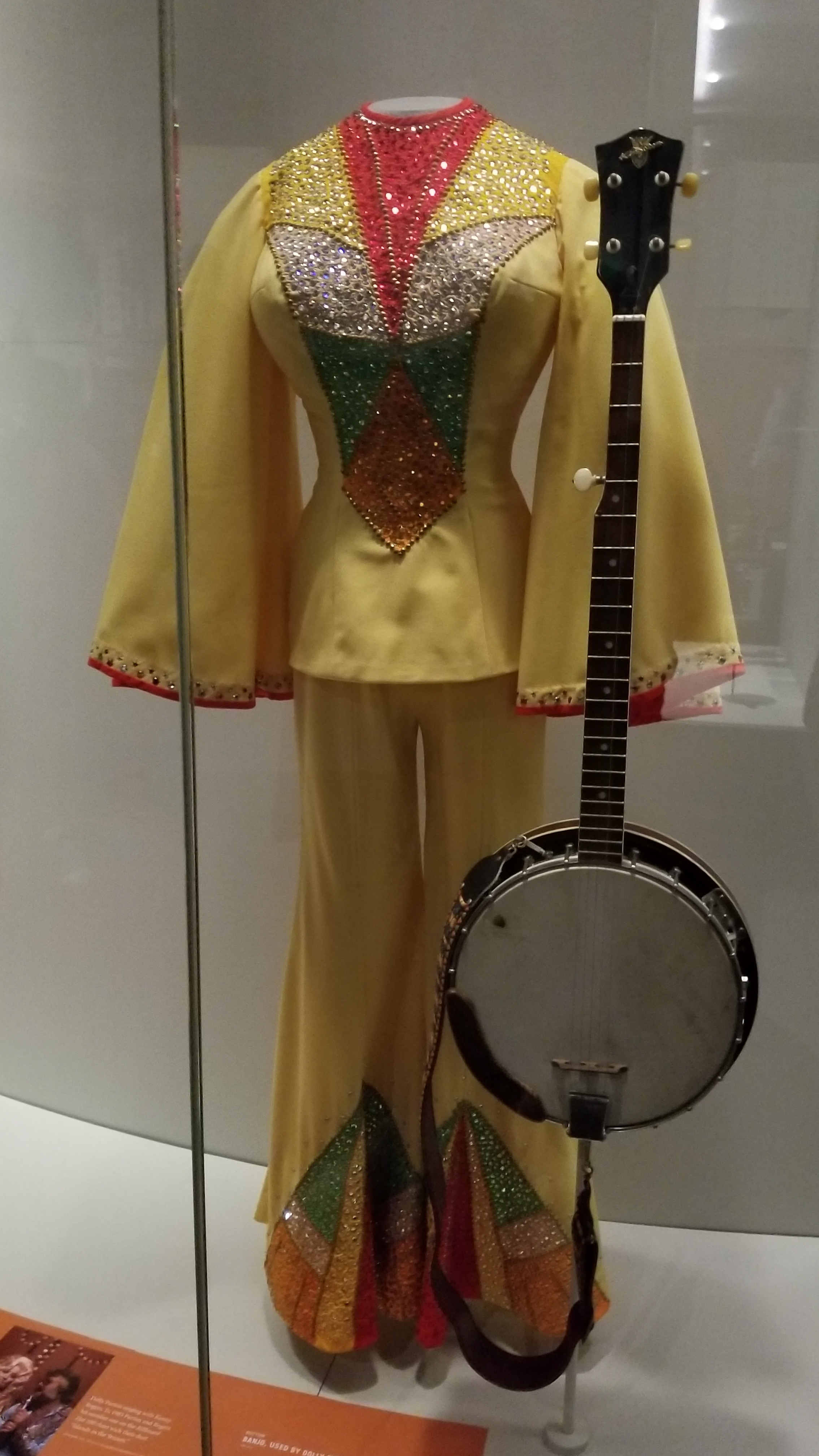 Show attire from Dolly Parton's collection