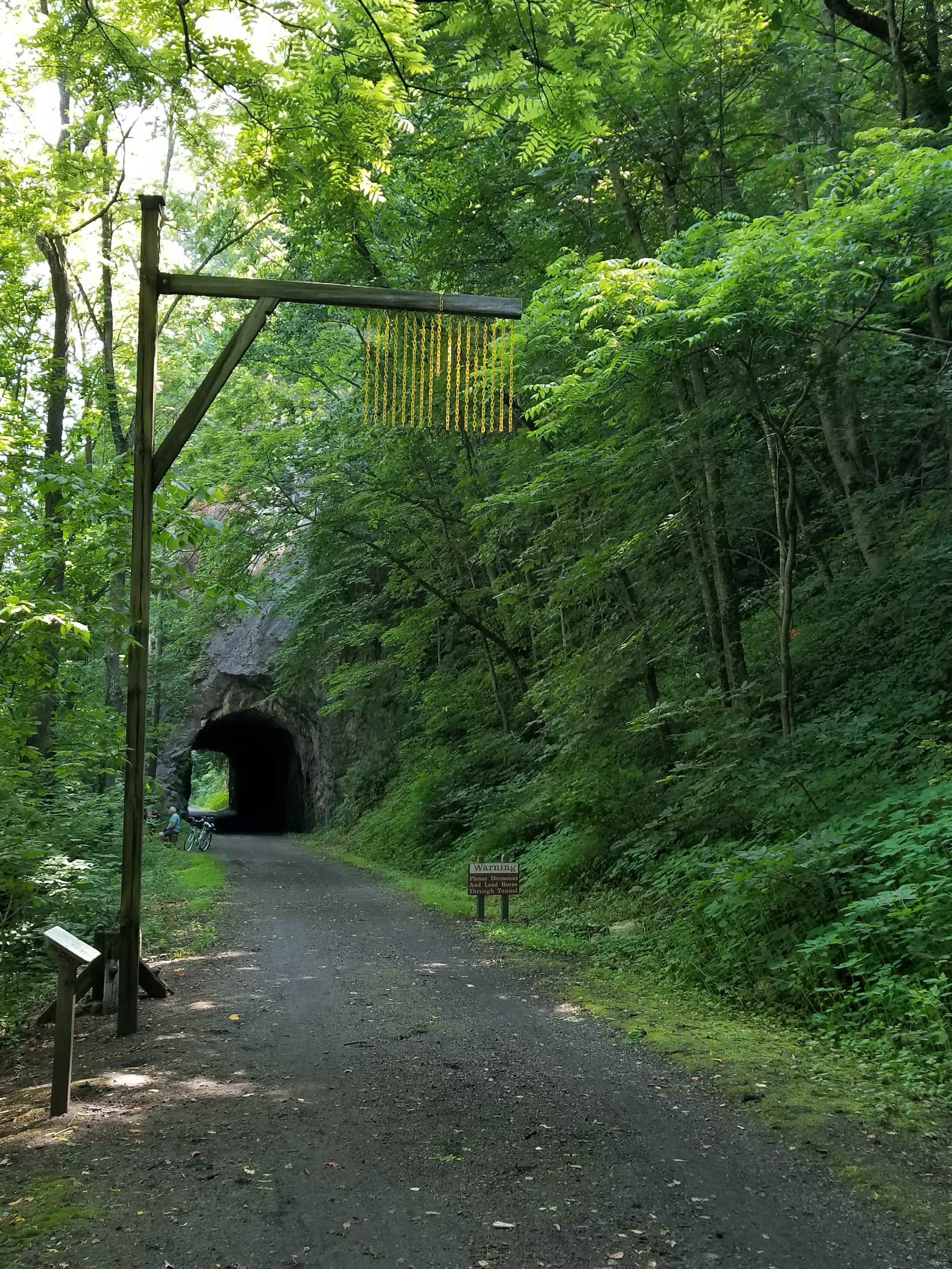Austinville Tunnel on New River Trail