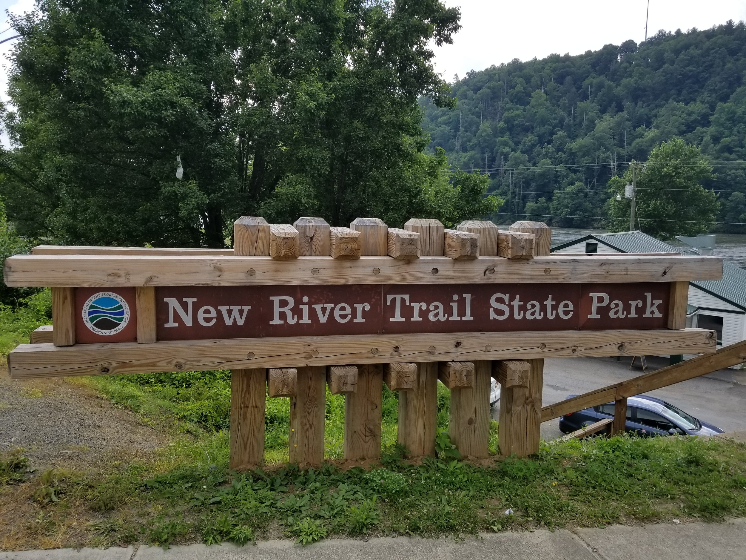 New River Trail at Fries