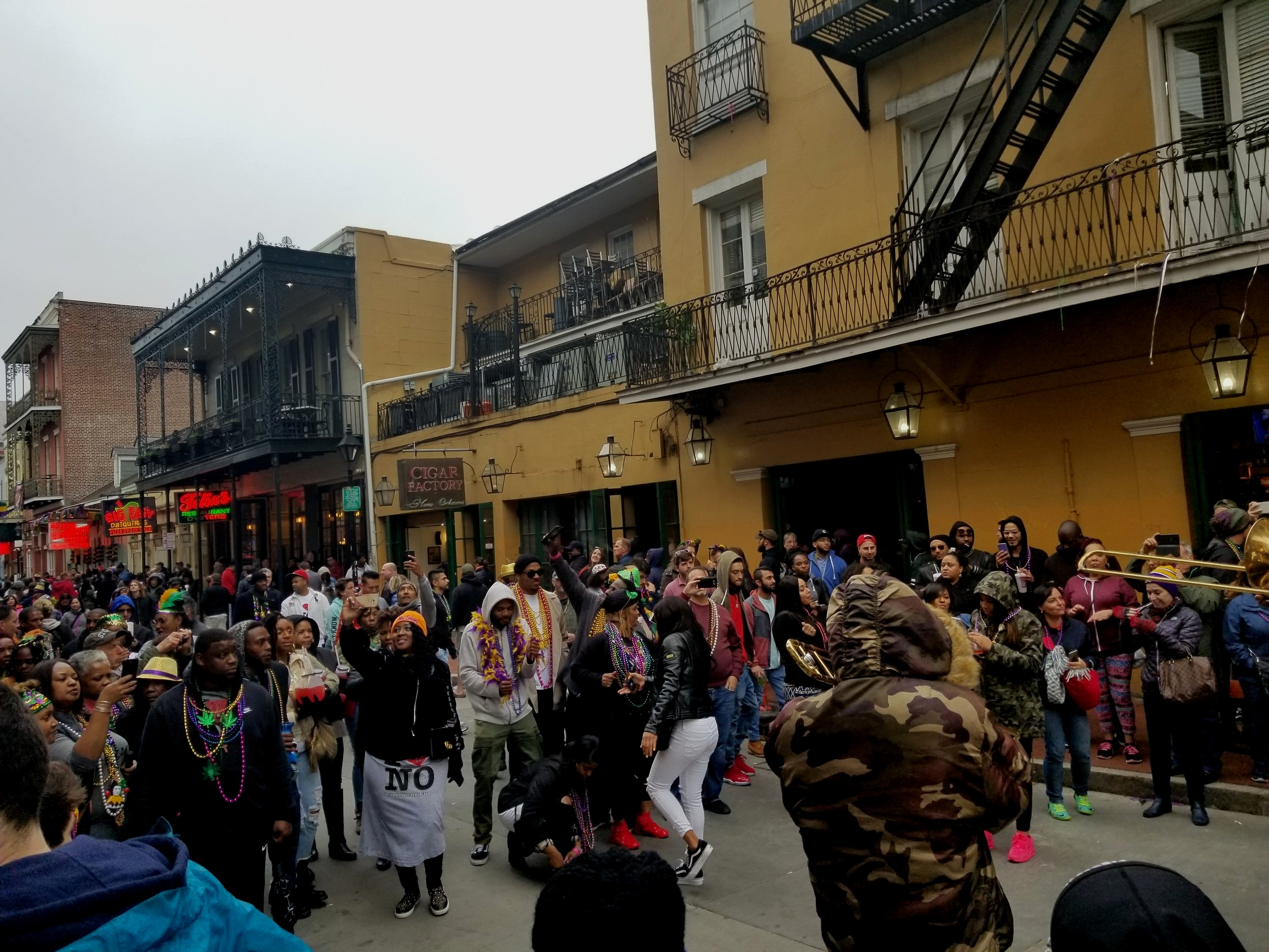 The French Quarter (especially Bourbon Street) gets a lot of attention during Mardi Gras, but it's far from the only place to enjoy this grand celebration.