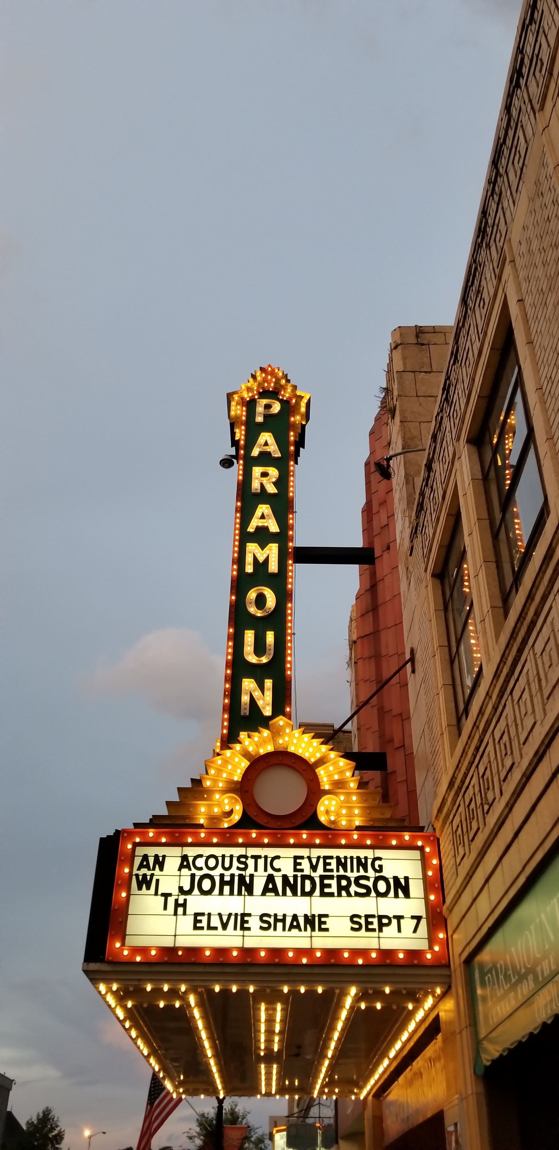 Opened in 1931, this classic theater fell on hard times shutting down in 1979. Reopened in the 1990's the theater is now the centerpiece of downtown revitalization in Bristol.