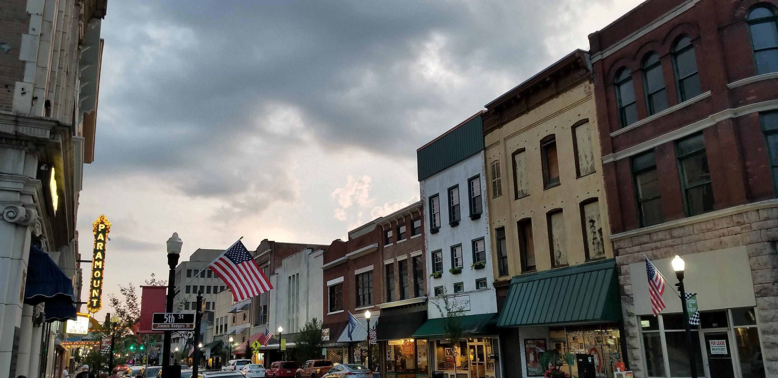 State Street in Bristol TN/VA