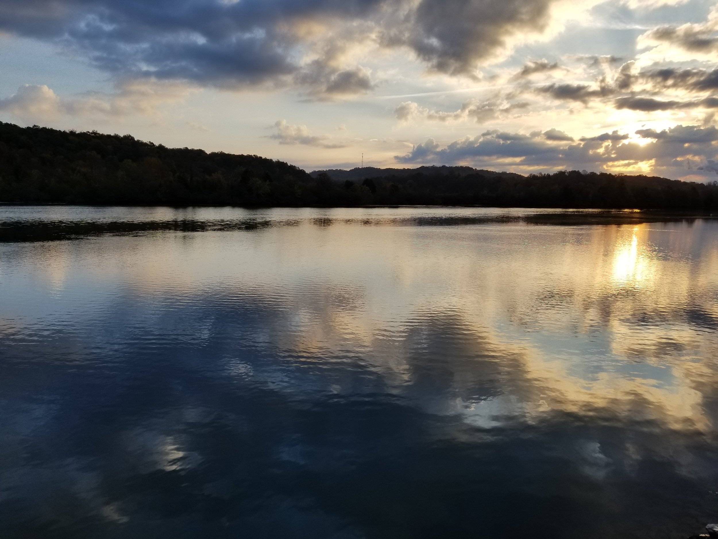 Sunrise at Melton Hill Lake Park