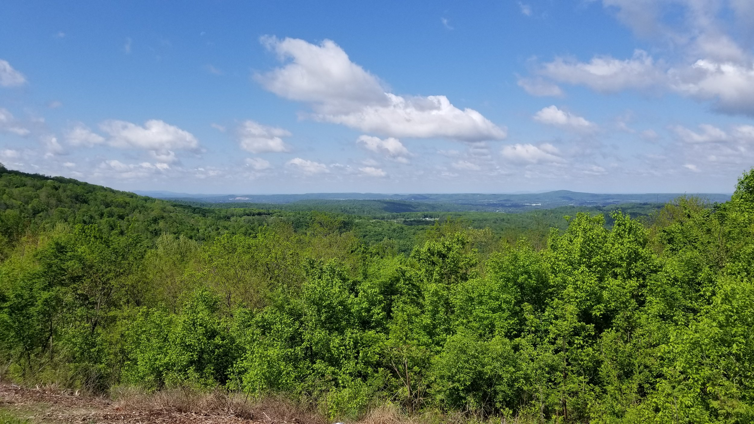 From the Sunset Rock Overlook along U.S. 70 near Sparta you can see more than 30 miles away.