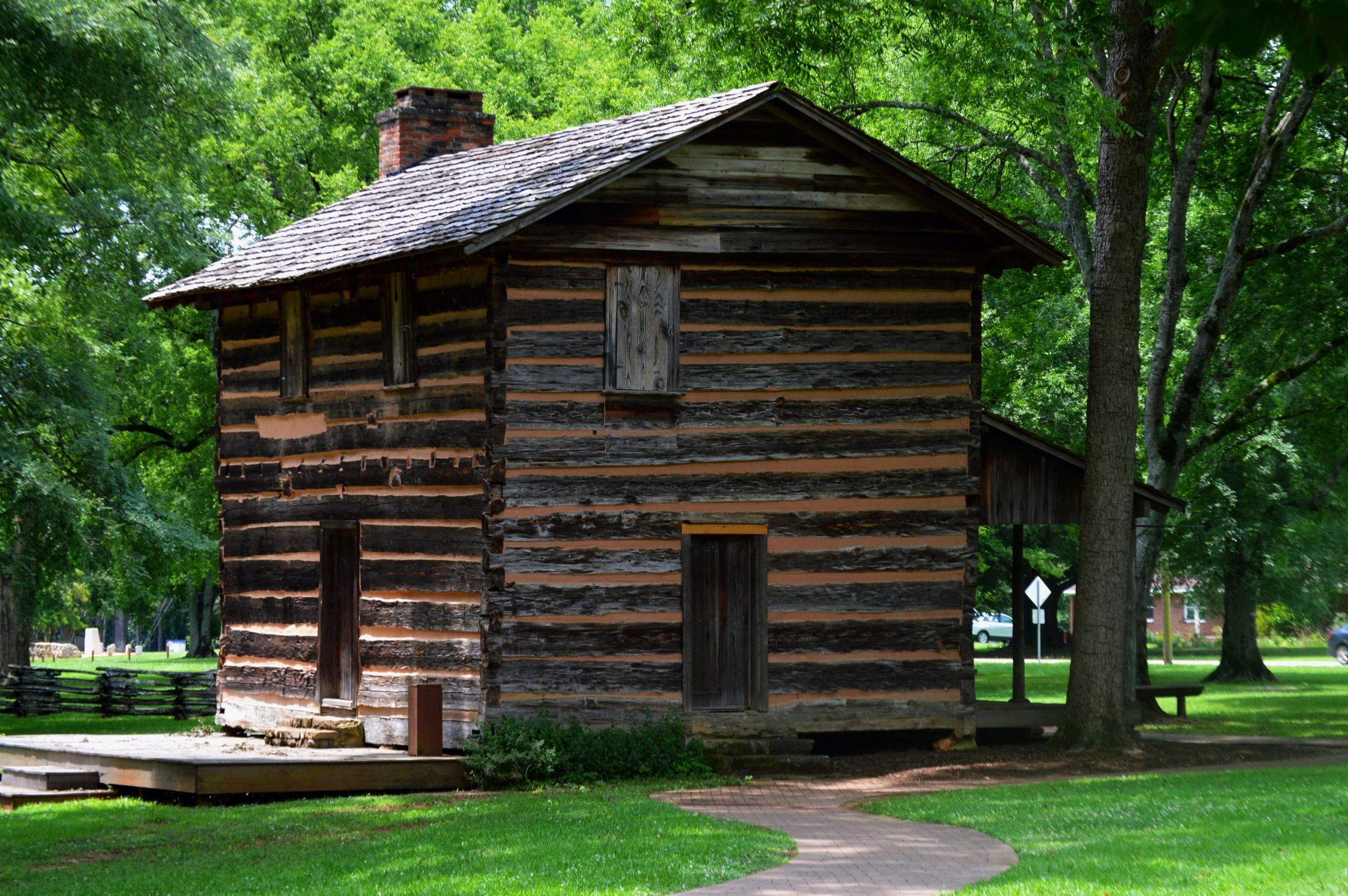 Logan Cabin at Ninety-Six Historic Site