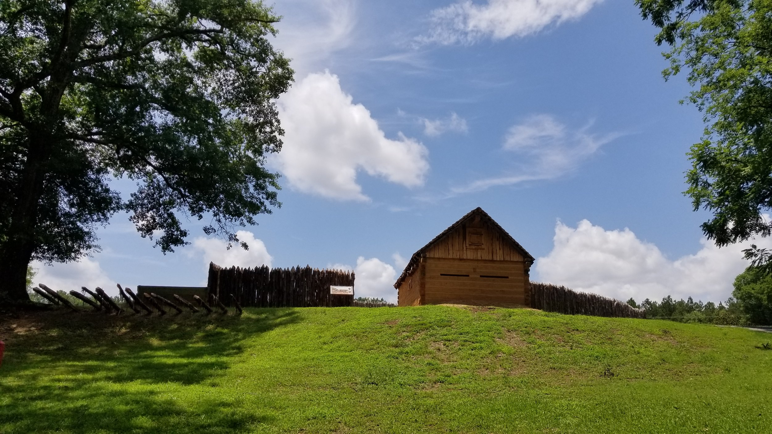 Stockade Fort at Ninety-Six