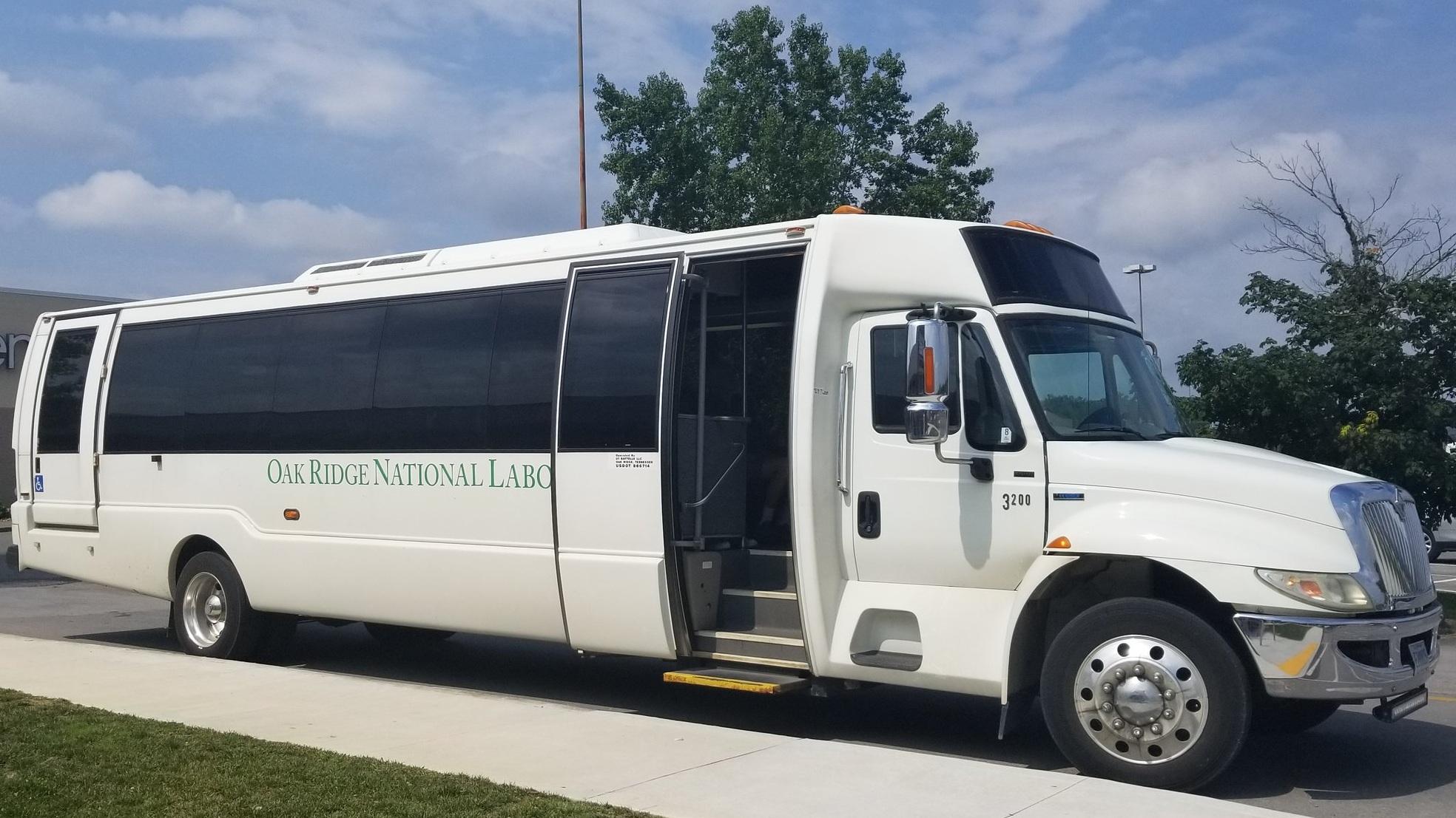 Oak Ridge National Laboratory Tour Bus
