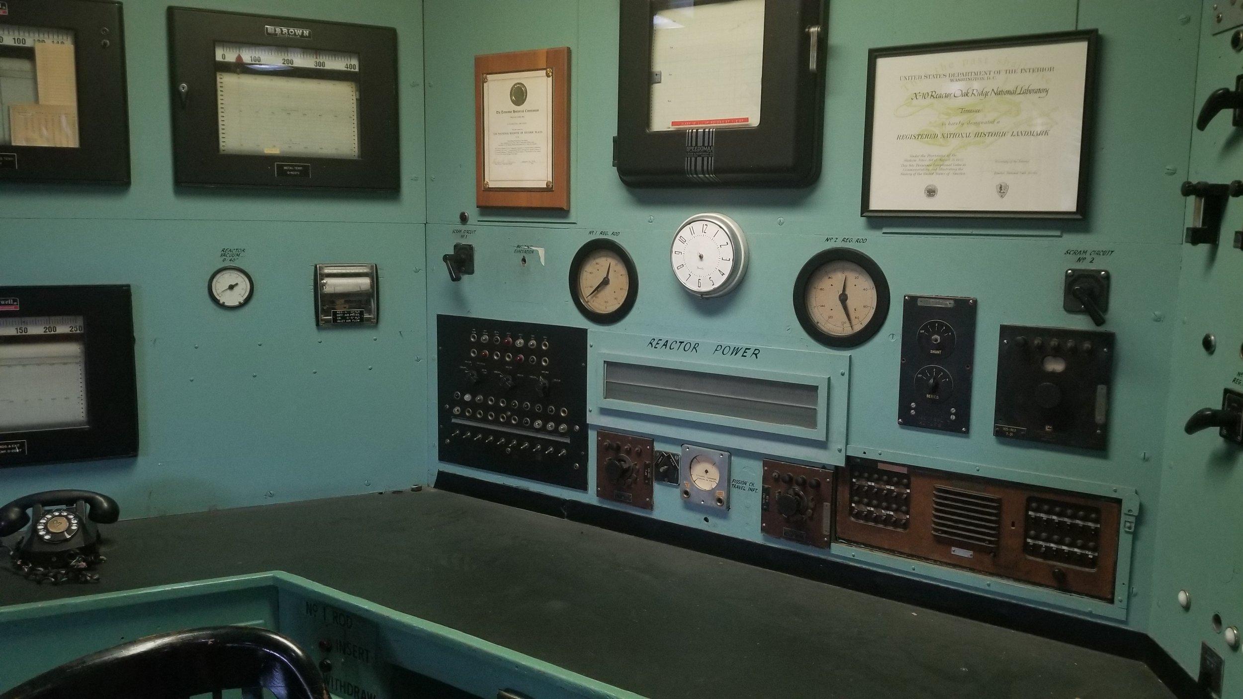 The Graphite Reactor Oak Ridge