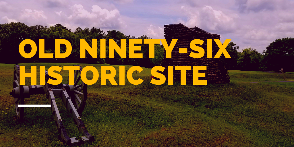 The Old Ninety-Six National Historic Site is not far from Abbeville.  It is a great place to learn about South Carolina's role in the Revolutionary War.  Click on the picture to read more about this historic site.