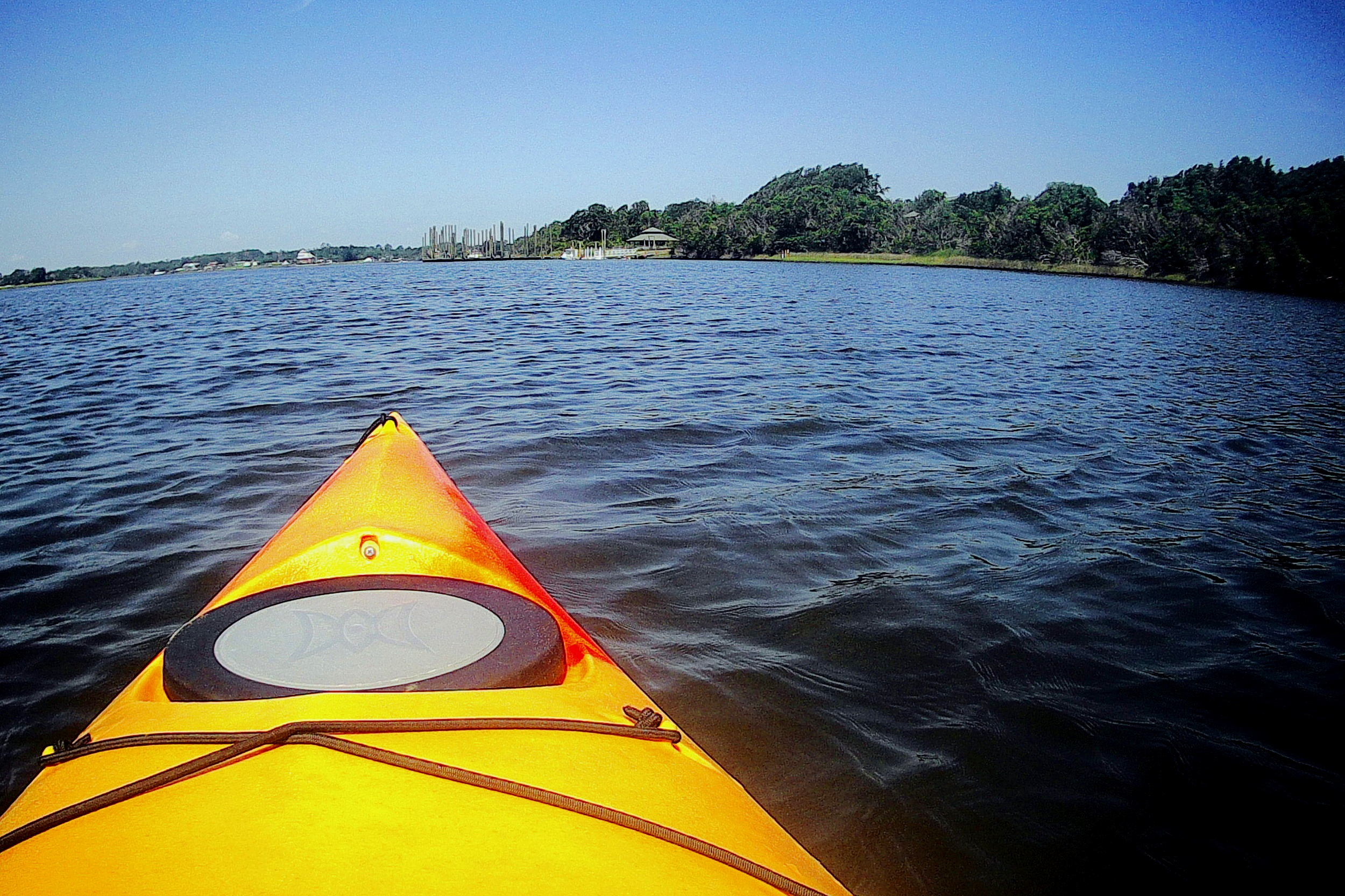 Kayaking is one of the best ways to enjoy your time at Hammock's Beach State Park.