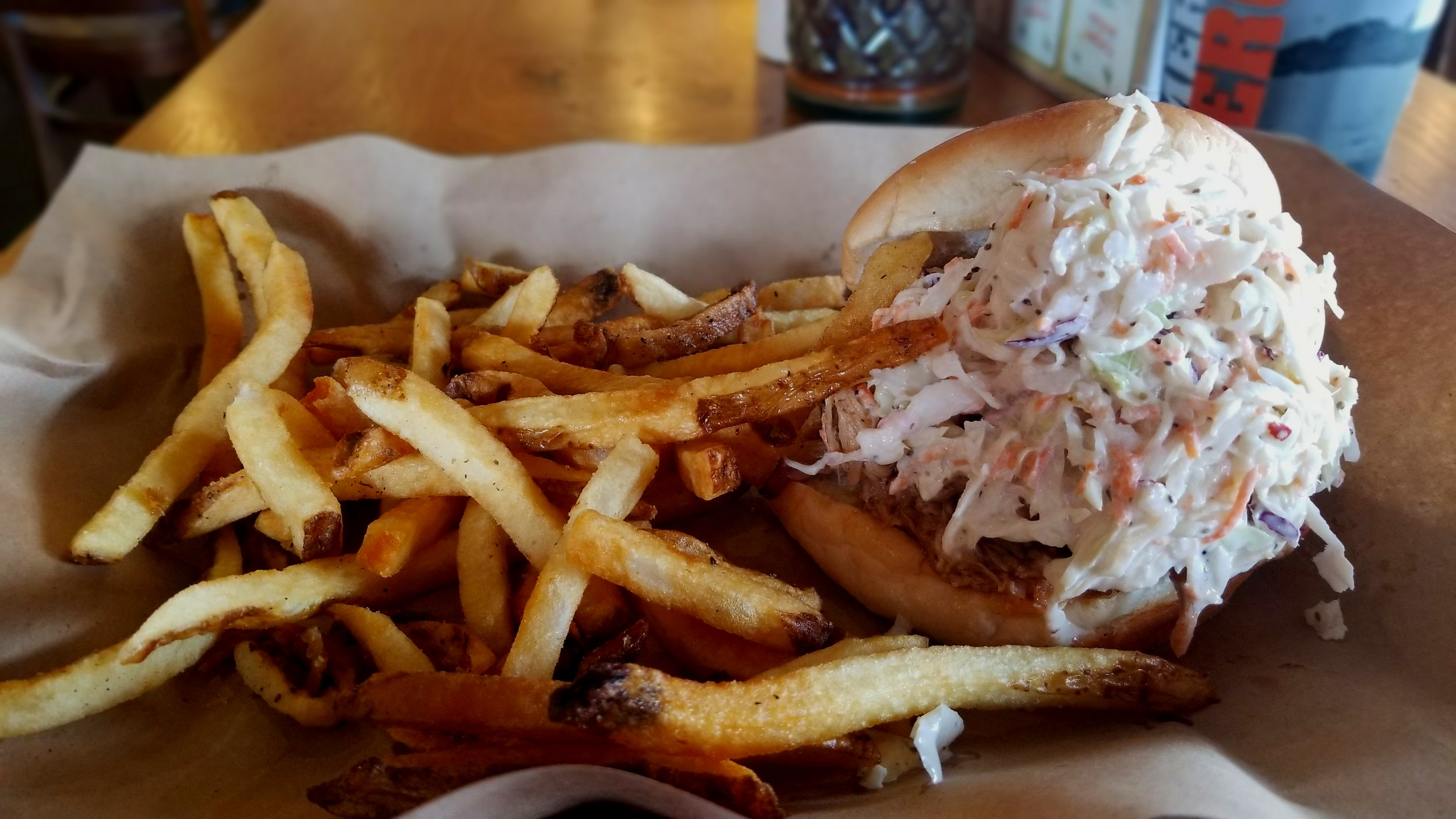 Mission BBQ in Jacksonville, NC captures the essence of the city's ties with the military all while serving up mouthwatering BBQ.