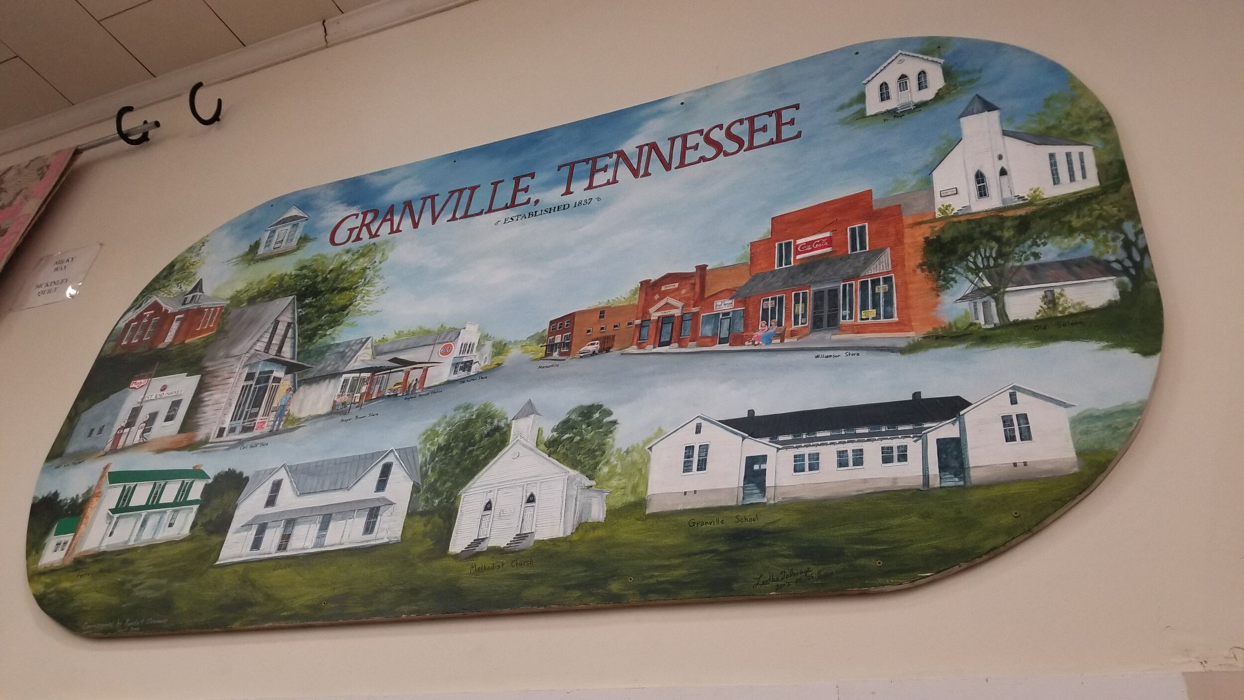 The Granville History Museum guides you through the town's history with hundreds of pictures, artifacts and memorabilia.