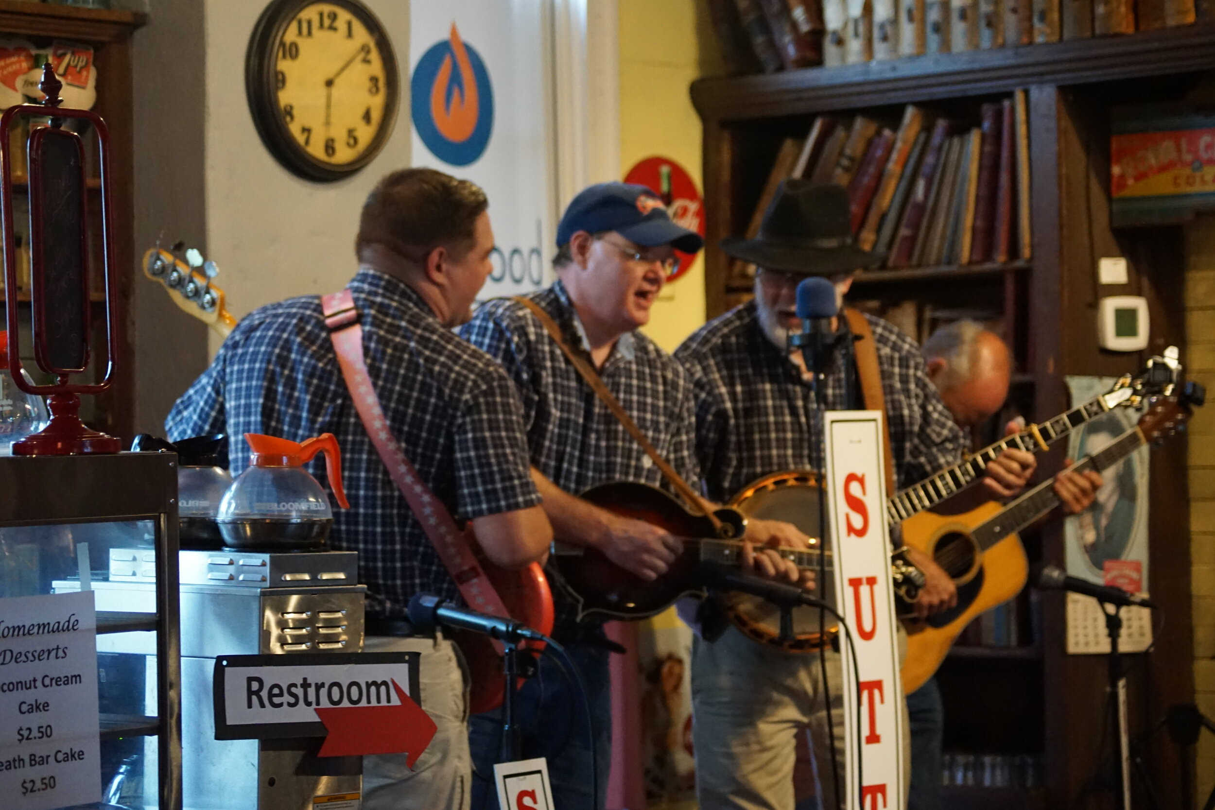 The Bilbreys from Cookeville perform for the Sutton Music Hour in Granville.