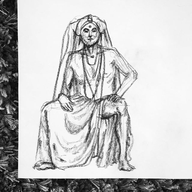 Had an awesome first (and def not last) time figure drawing at @drsketchys_sf on Tuesday with the amazing #sistersofperpetualindulgence