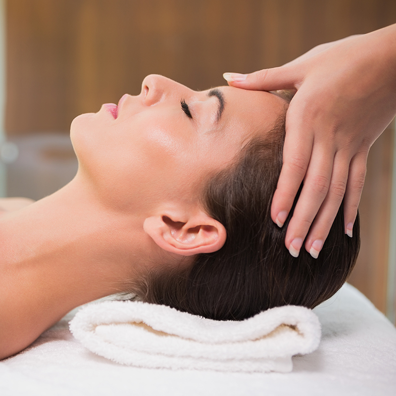 scalp - 30 min - $50A scalp massage can be therapeutic, helping to release stress and tension, improving sleep, and stimulating and improving hair growth and quality..