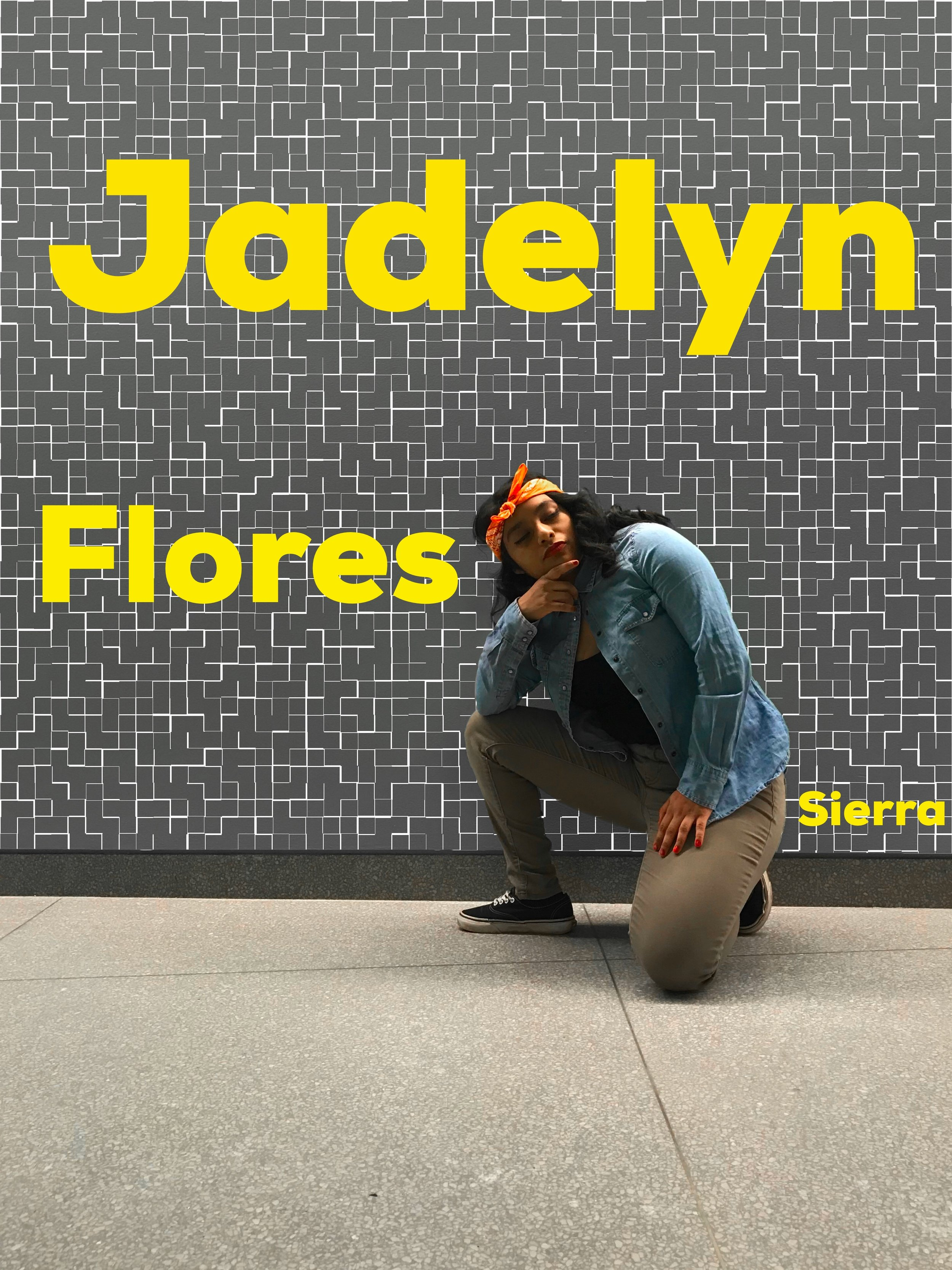 """Jadelyn Sierra—Mexican """"Chola""""   For her look, Jadelyn chose to represent a subset of the Mexican culture through her """"cholo(a)"""" look. According to her, this is the stereotypical """"hood""""/""""gangster"""" look for Mexican Americans. The """"cholo"""" look usually consists of a button down shirt with only one button buttoned, paired with a tank-top or crop-top for women and a white wife beater for men. For women, khaki pants are common and for men, khaki shorts with long white socks are the norm. However, Jadelyn had to substitute the usual converses with her Vans. """"Chola"""" makeup for women roughly resembles a Marilyn Monroe aesthetic with a bright red lip. Although the eyebrows are thin and darkened, Jadelyn was unable to master the """"chola"""" eyebrow and instead went with her natural ones. The """"cholo"""" look also consists of a bandana, often red bandana for its vibrancy or brown for brown pride."""
