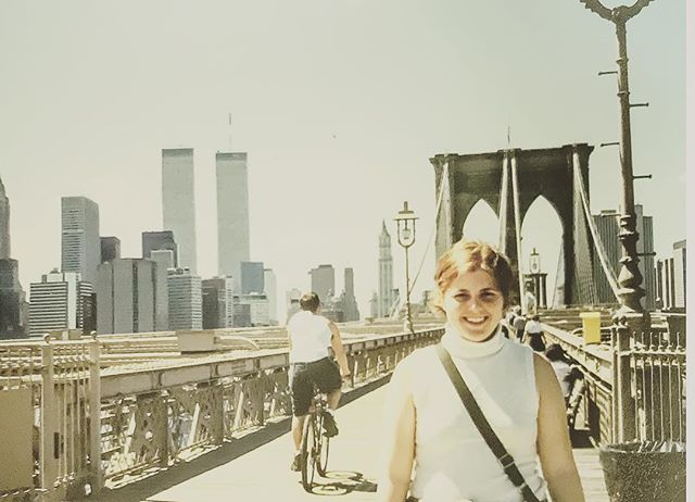 New York, June 2001. A view to carry in our hearts.