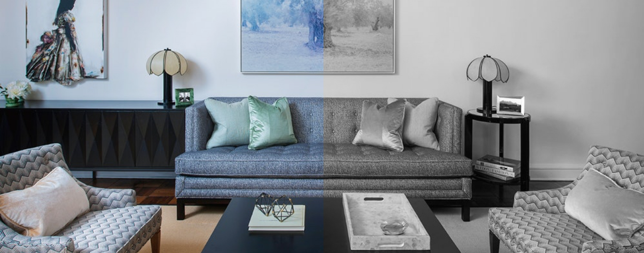Sample image. I thought the bw & color dichotomy was a good way to symbolize before/after. We can def change it though.