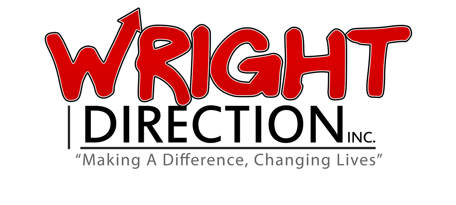 Logo - Wright Direction Inc Concept 3 with Arrow slant up new slogan1.png