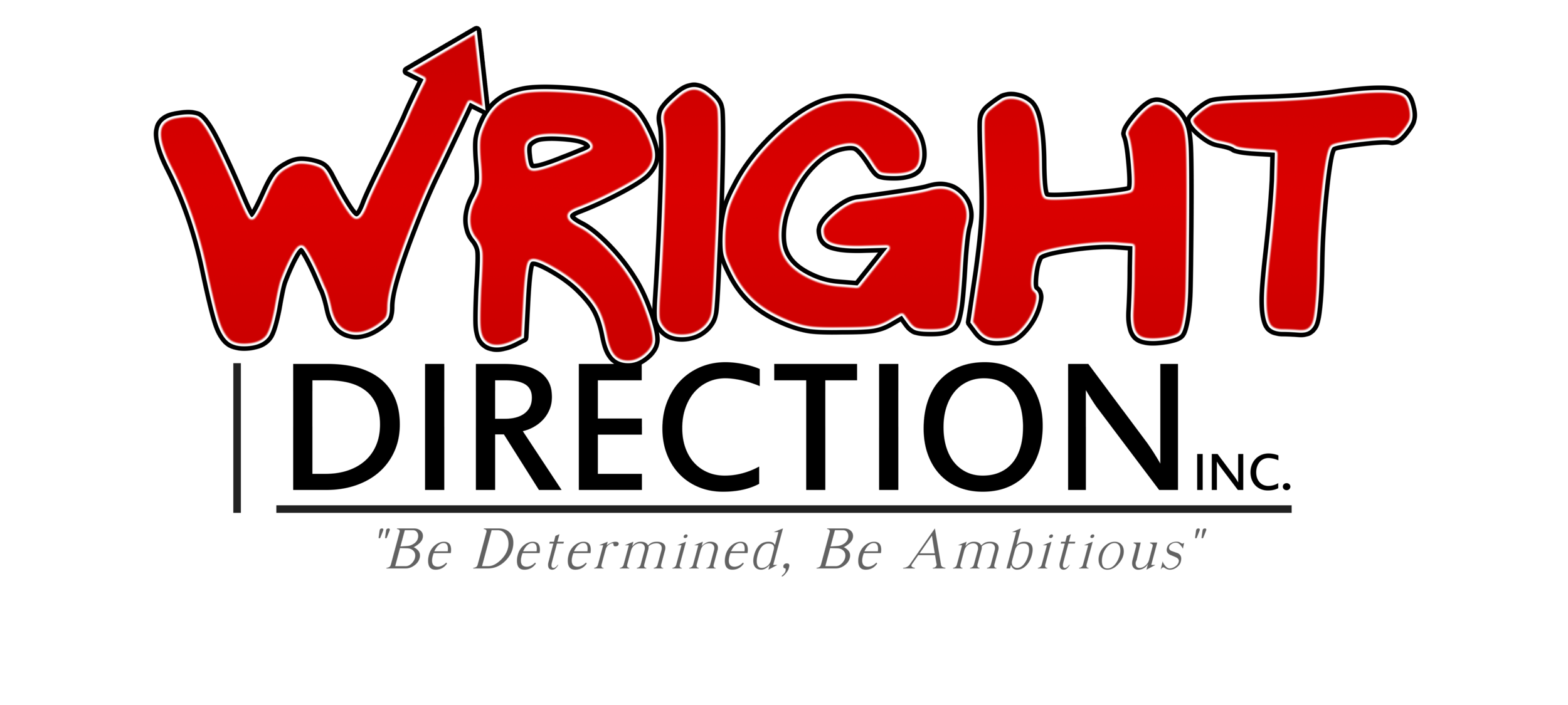 Logo - Wright Direction Inc Concept 3 with Arrow slant up.png