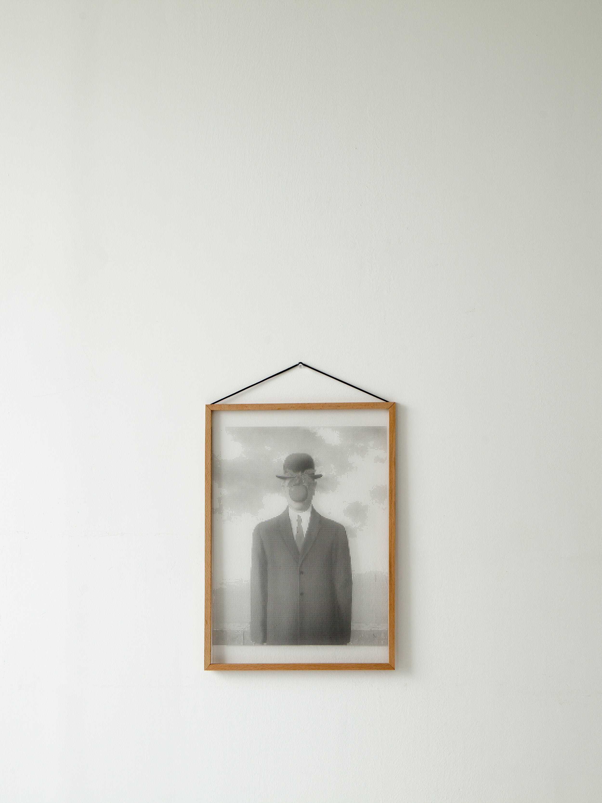 Digitize: The Son of a Man by René Magritte  Digit#: 24,597  Size: A3