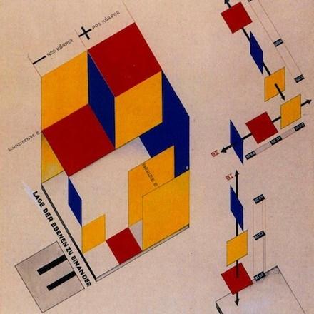 Bauhaus color rendering reference by  Joost Schmidt_Mechanical Stage Design