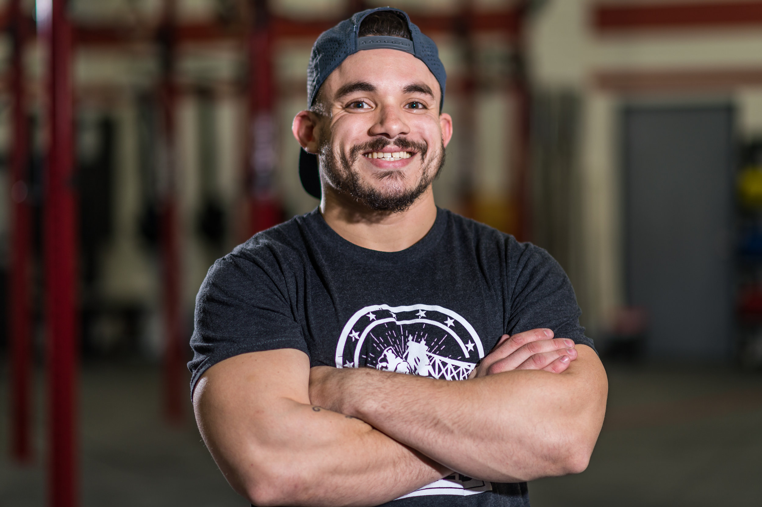JON PABON   Hometown: Brooklyn, New York  CrossFit Level 1 CrossFit Strongman  CrossFitting since 2014 Favorite Movement: Squat Clean Least Favorite Movement: Wallball